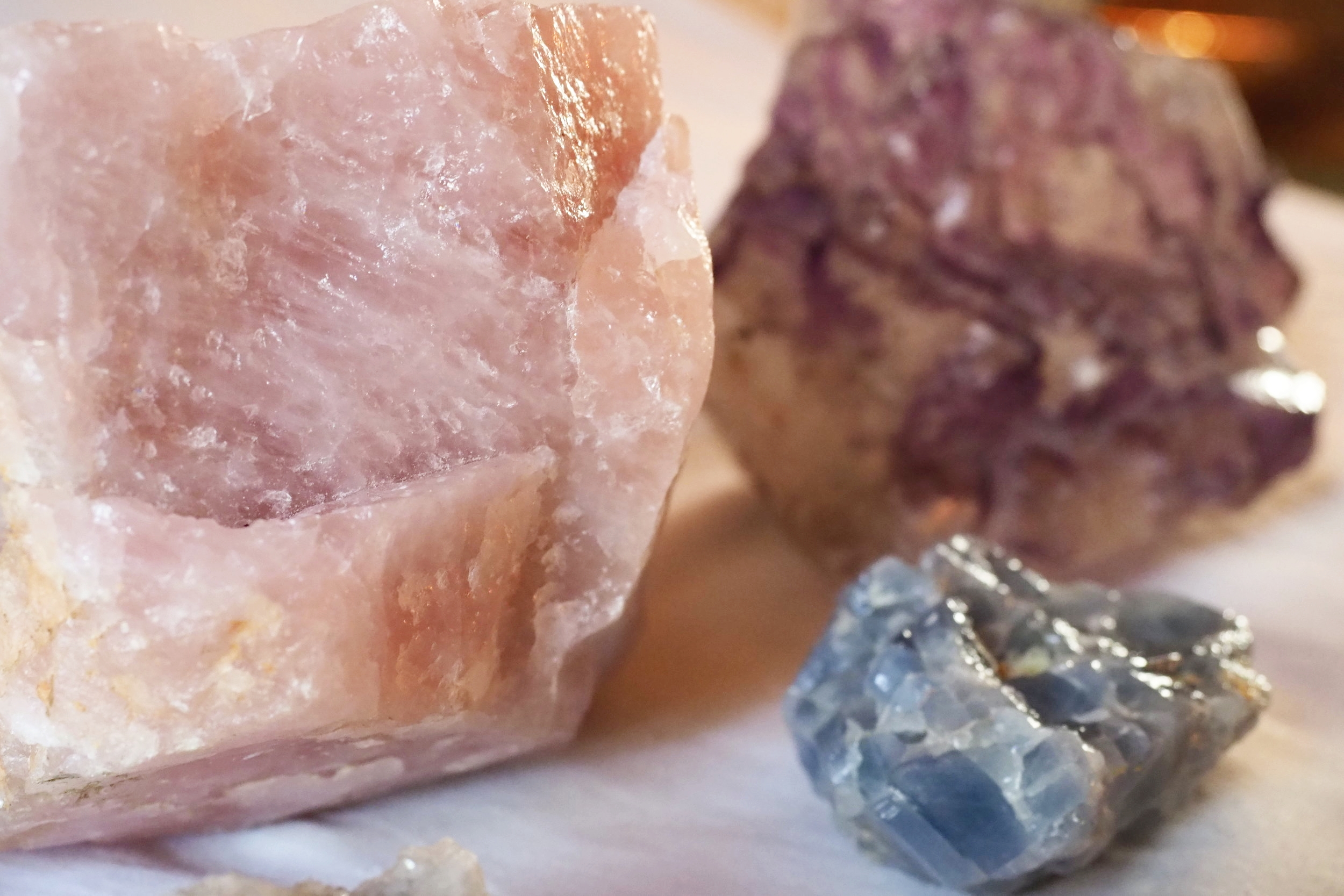 Amethyst. Crystals.  Tarot course. Learn crystal healing with Debbie from Spirit In You