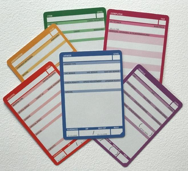 A Rainbow of Cards