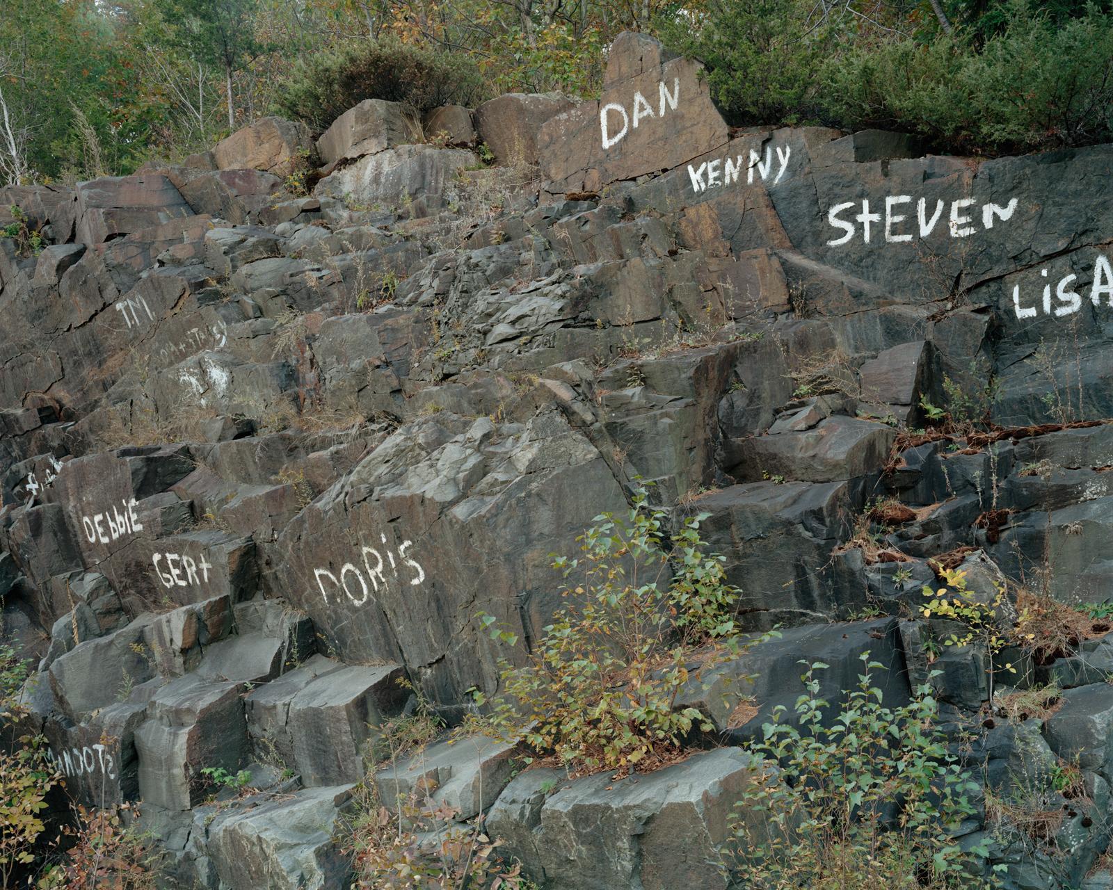 Names on Rocks