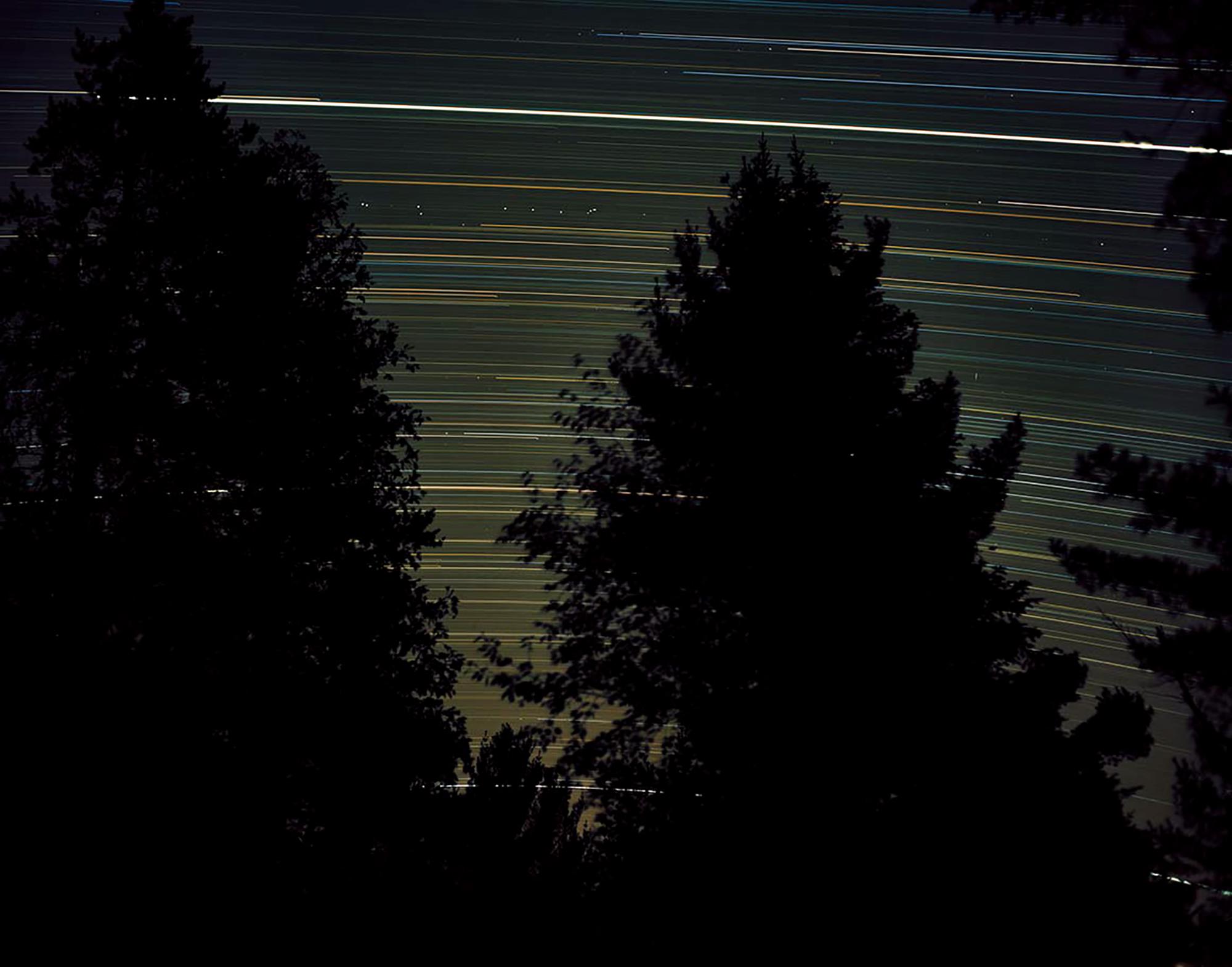 Star Trails, Source Lake, Ontario, 2011