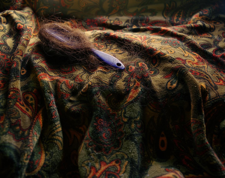 Unraveling Hairbrush, 2012