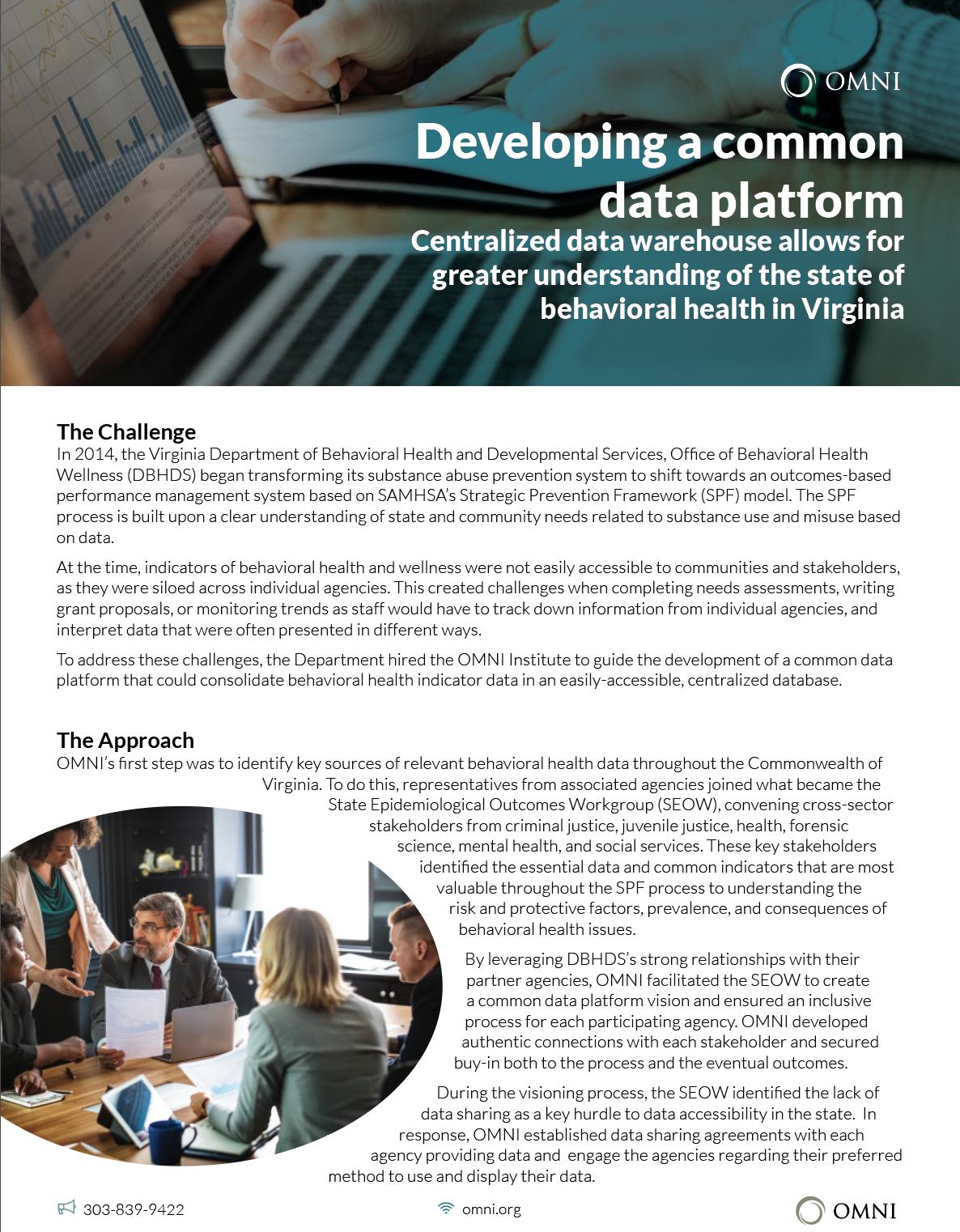 Data Platform case study