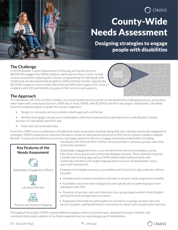 Needs Assessment case study