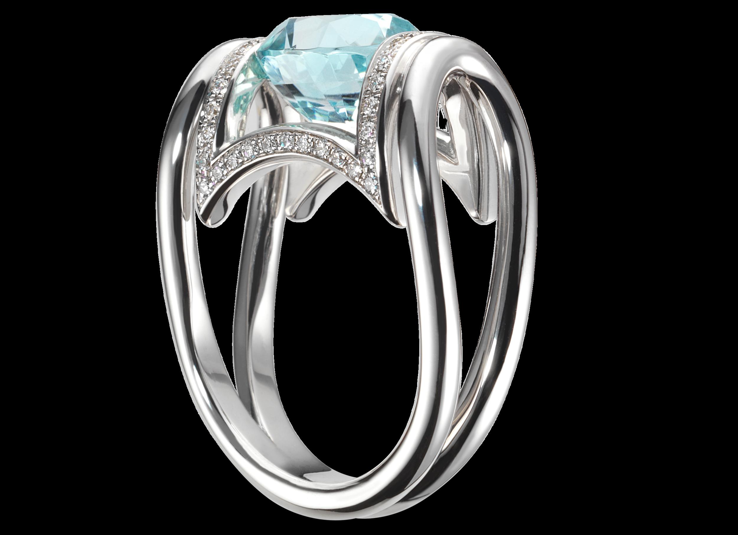 Bague Anna or blanc Toumaliine bleue 3,47 carats et pavage 50 diamants 0.24 ct.png