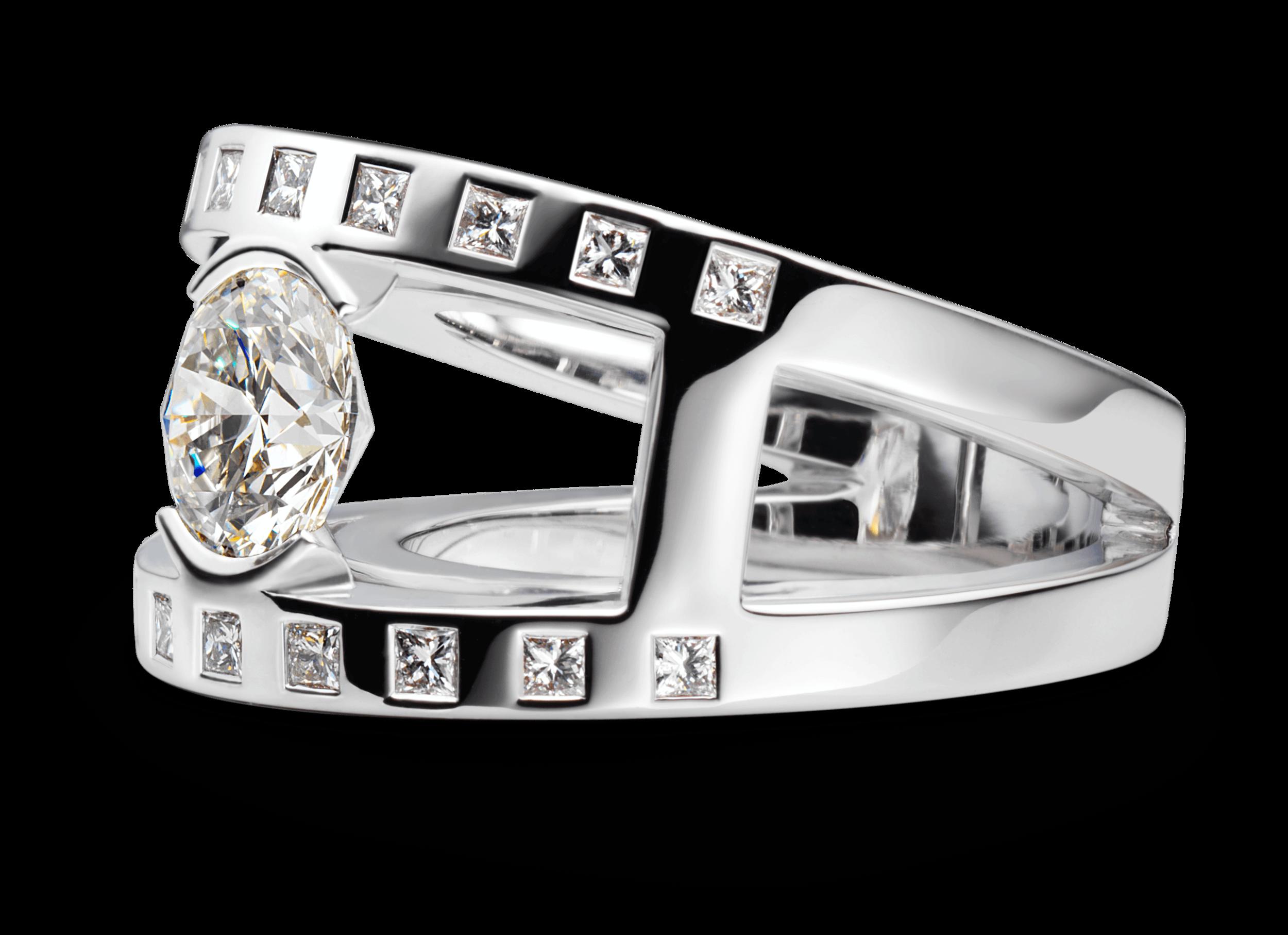 Bague Praha Joaillerie or blanc diamant 1.57 carat.png