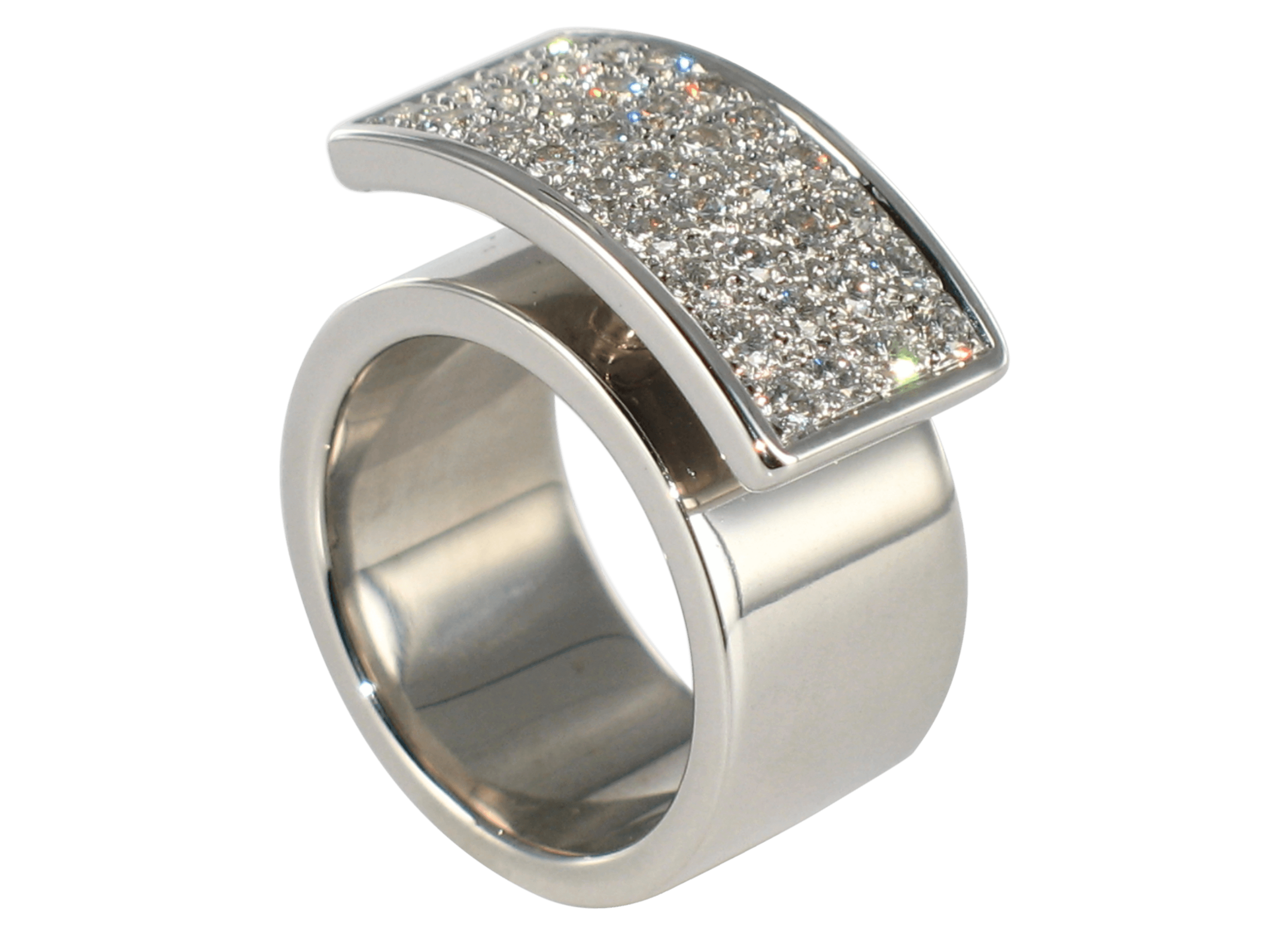 Bague Venise or blanc pavage large diamants 1.png