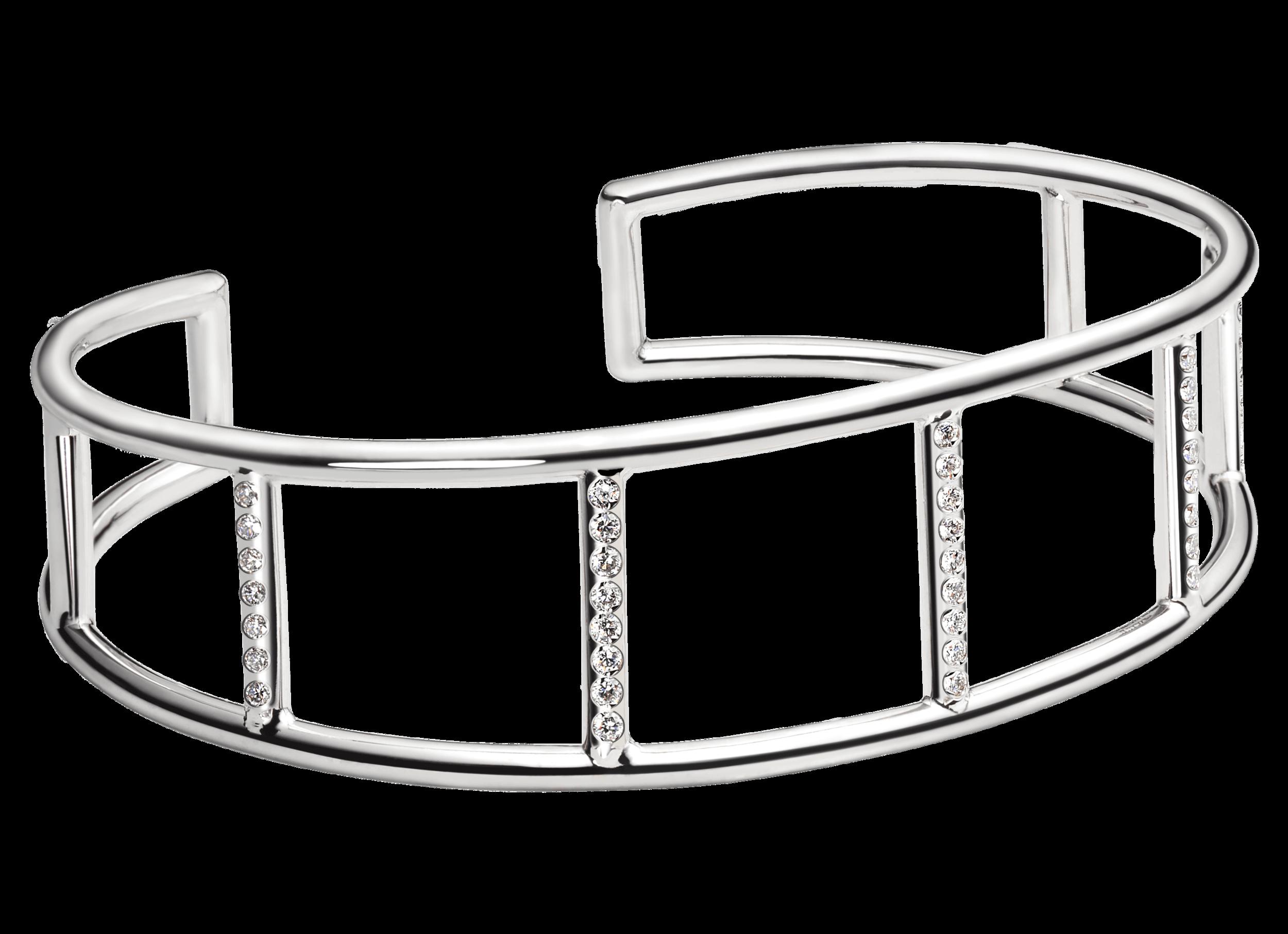 Bracelet Navona or blanc et pavage diamants.png