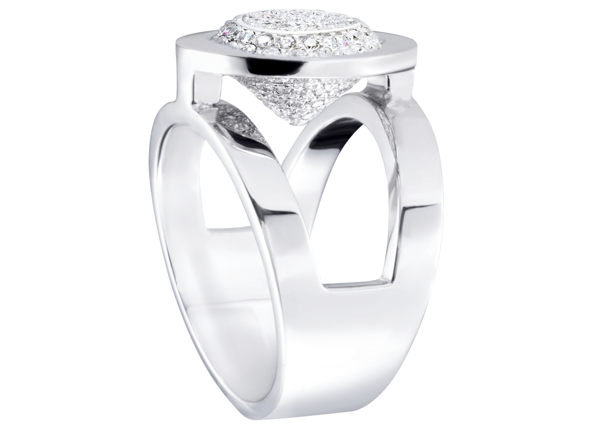 Bague Mamona orn blanc et pavage diamants PNG web.png