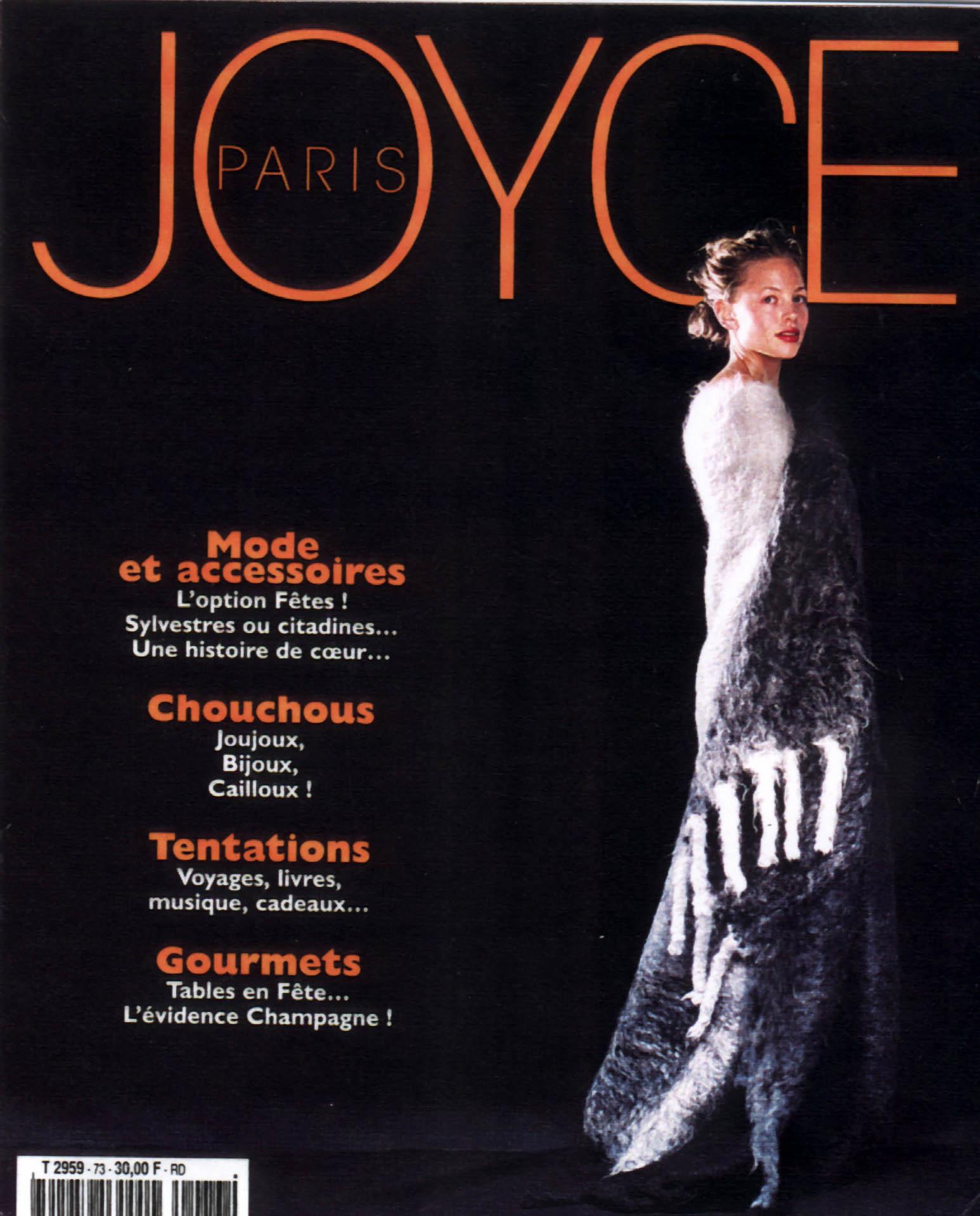 1998 Joyce Nov-Dec 98 Couve.jpg