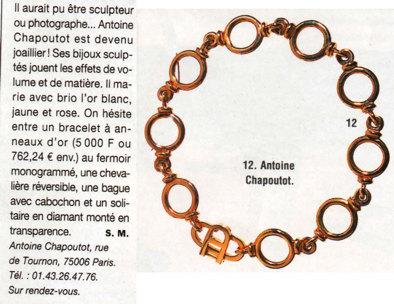 1999 Figaro Dec99 - Bracelet 1 Article.jpg