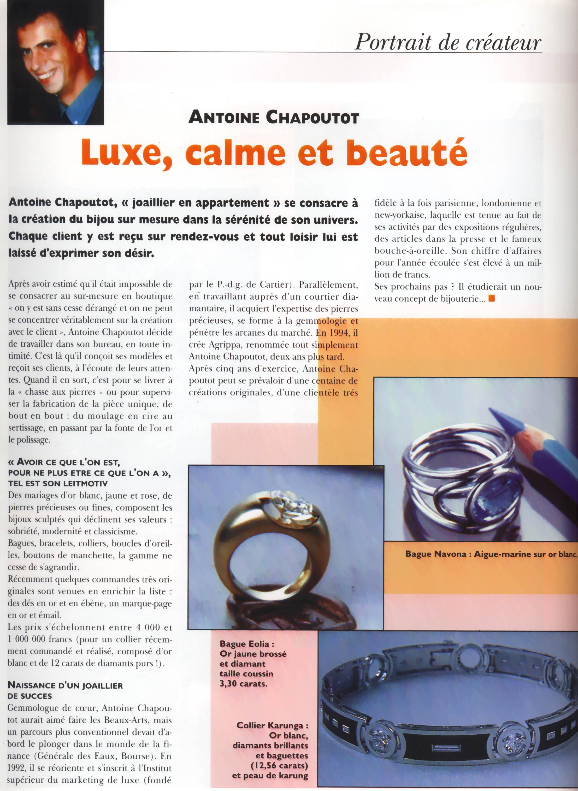 Le Bijoutier - Mars 2000 - Article.jpg