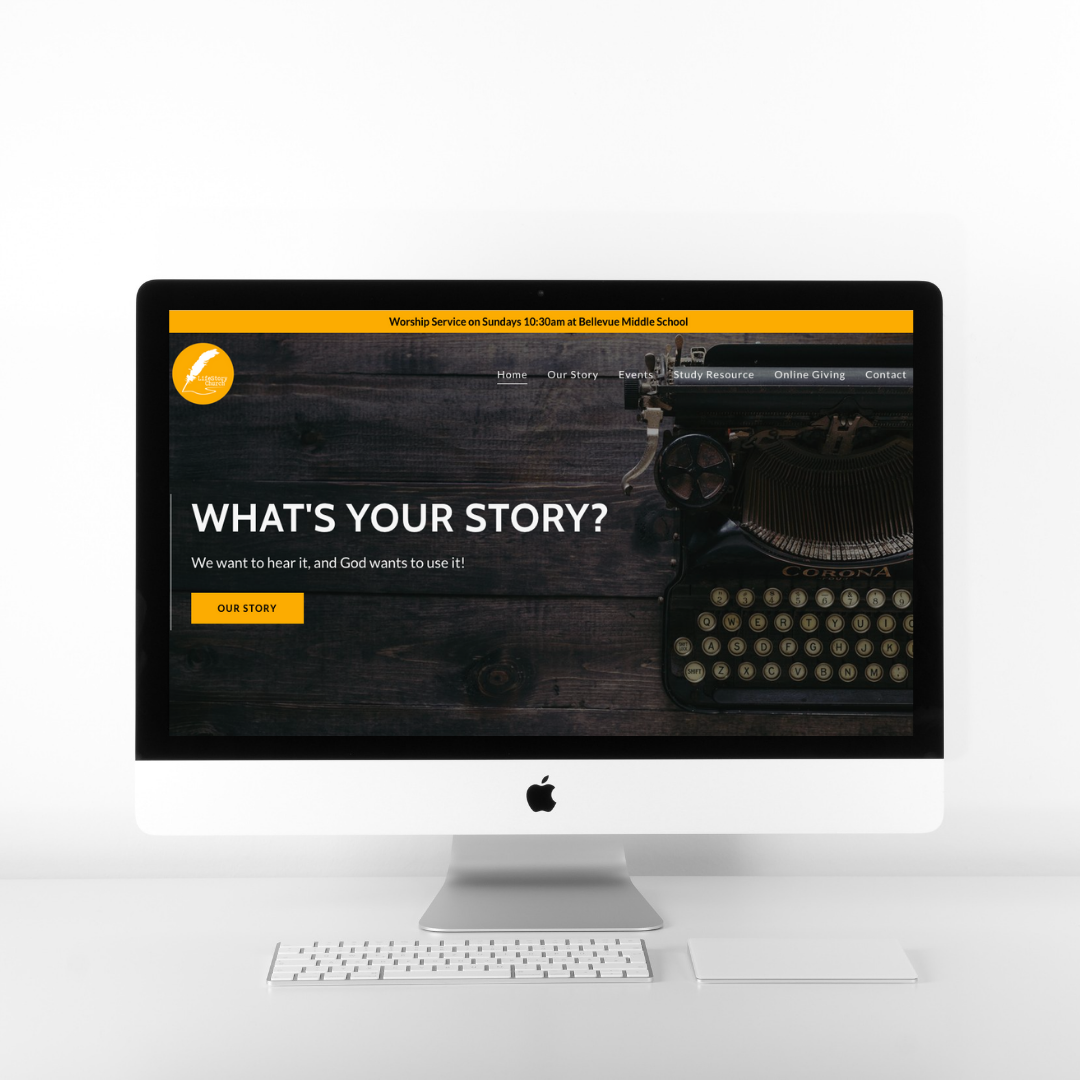 """10 out of 10, we are 110% happy with our new website! Ranay communicated very well, she asked for our vision and used her skill and creativity to exceed what we had even hoped for…""- Chad Randall of LifeStory Church -"