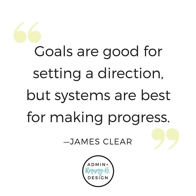 🎧 I'm currently listening to the audiobook Atomic Habits by James Clear. I'm only halfway through listening, but there are already so many great takeaways. I love his take on goals. Goals are important, yes, but goals alone won't get you far. Setting up systems for moving forward is where it's at! This means creating a plan for how you're going to achieve that goal. It's the teeny, tiny atomic-sized habits and actions that determine where you'll end up. ⁠🚀 ⁠ ⁠ ⁠  #enterpreneur #enterpreneurship #solopreneur #mompreneur #bossmom #momboss #creativeentrepreneur #atomichabits