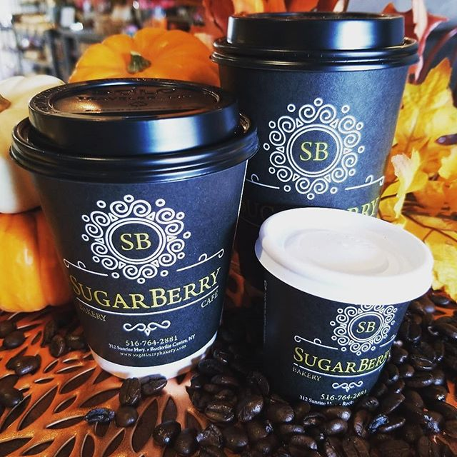 Does size matter?  Well........ #sugarberry #rockvillecentre #longisland #bakery #coffee #cafe #outdoorcafe #rvc