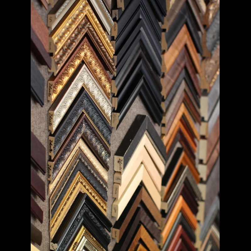 FRAMING - Showcase and protect your piece with a quality handcrafted frame.