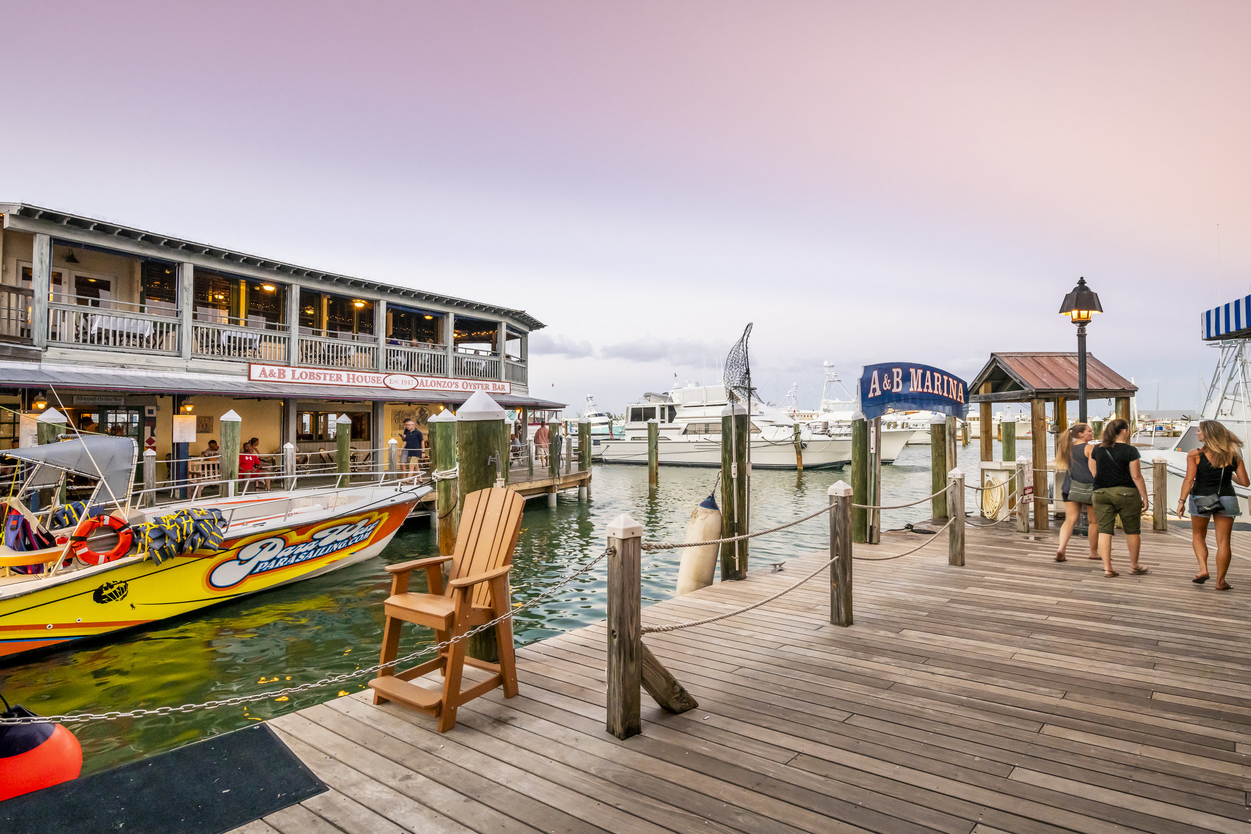 Looking for fun? - A&B Marina features a world class roster of charter fishing and experience providers.