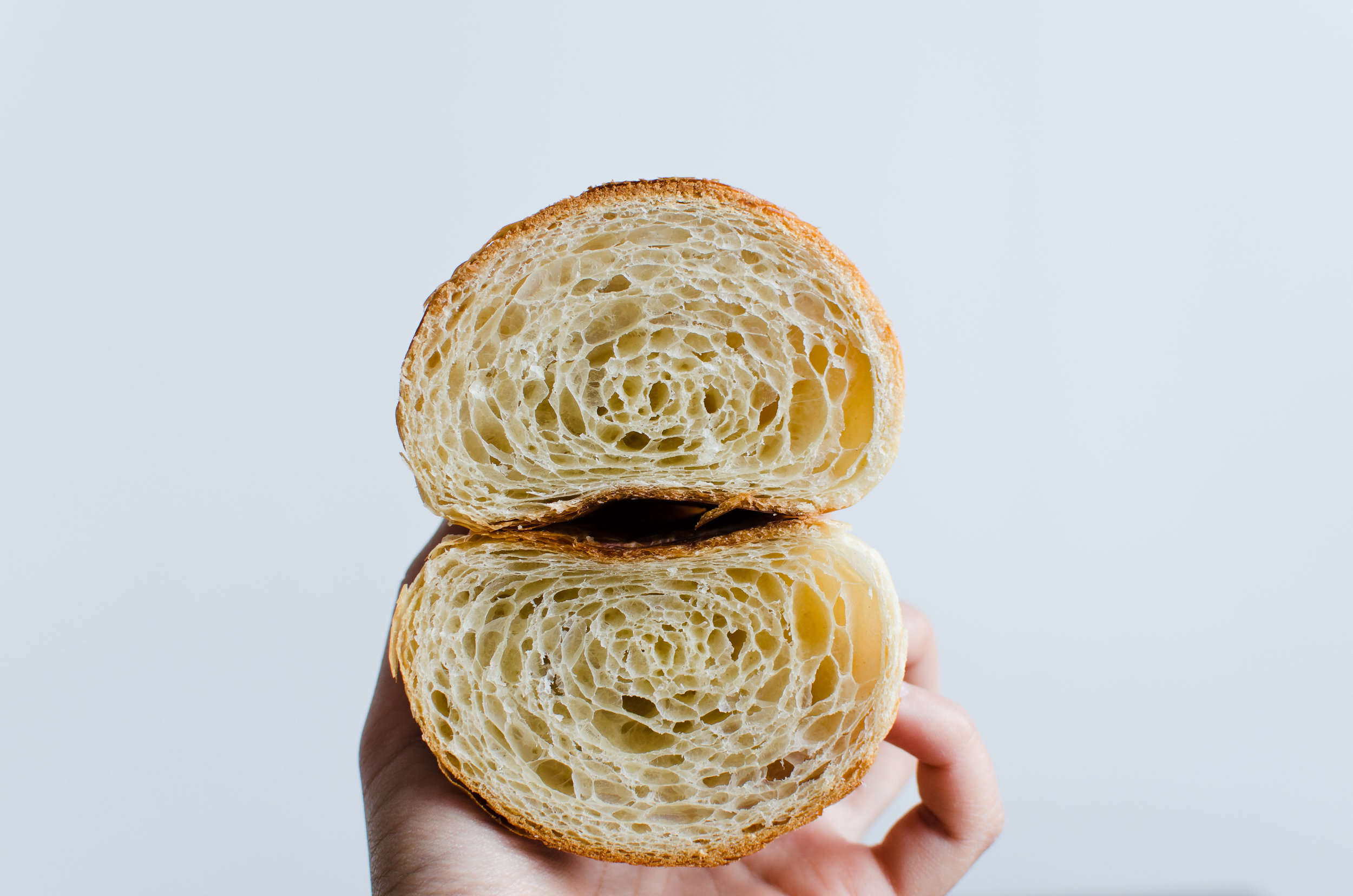 Croissant   French Flour, Japanese Flour, Egg, Isigny Butter