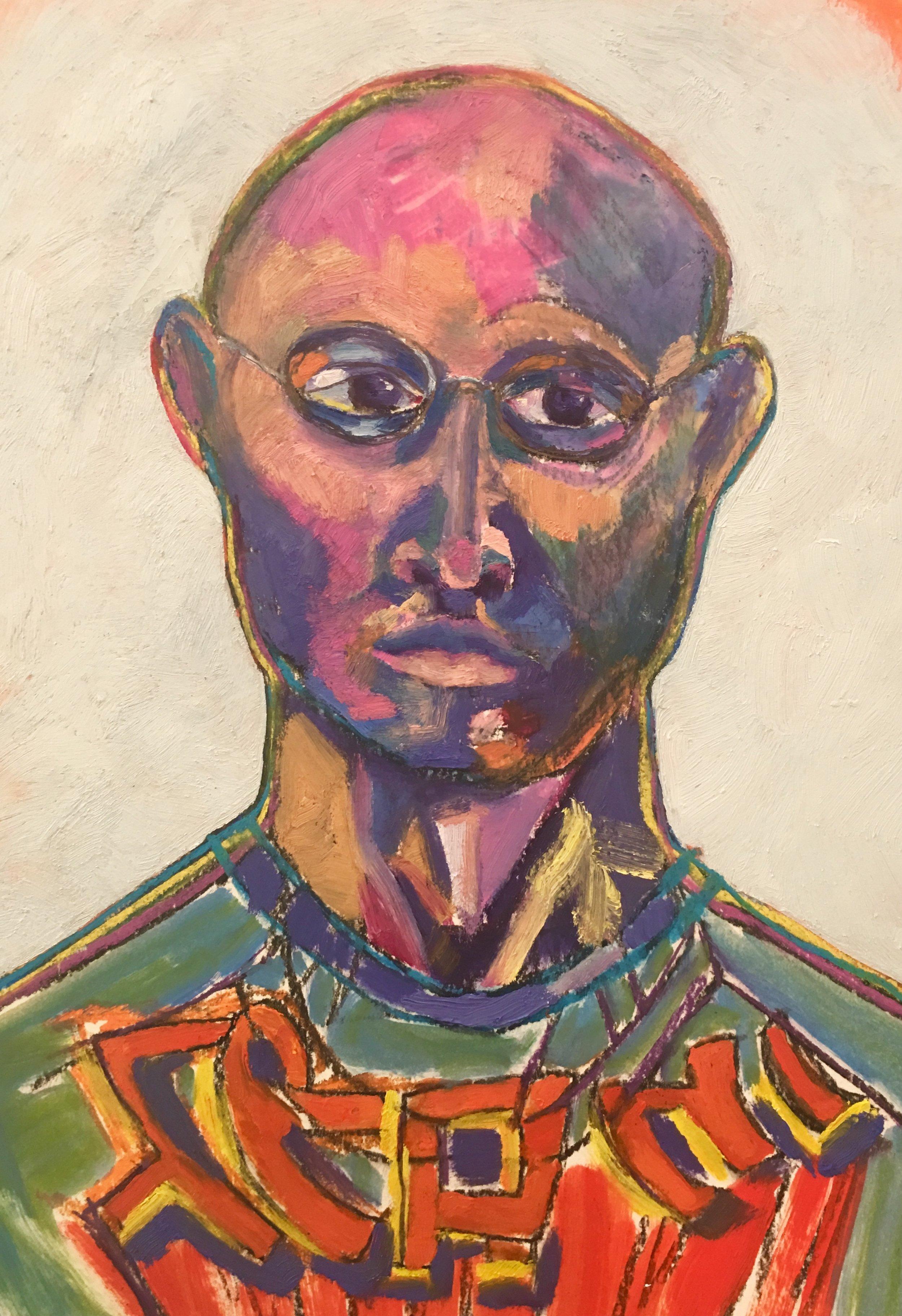Luke Reichle Self-Portrait