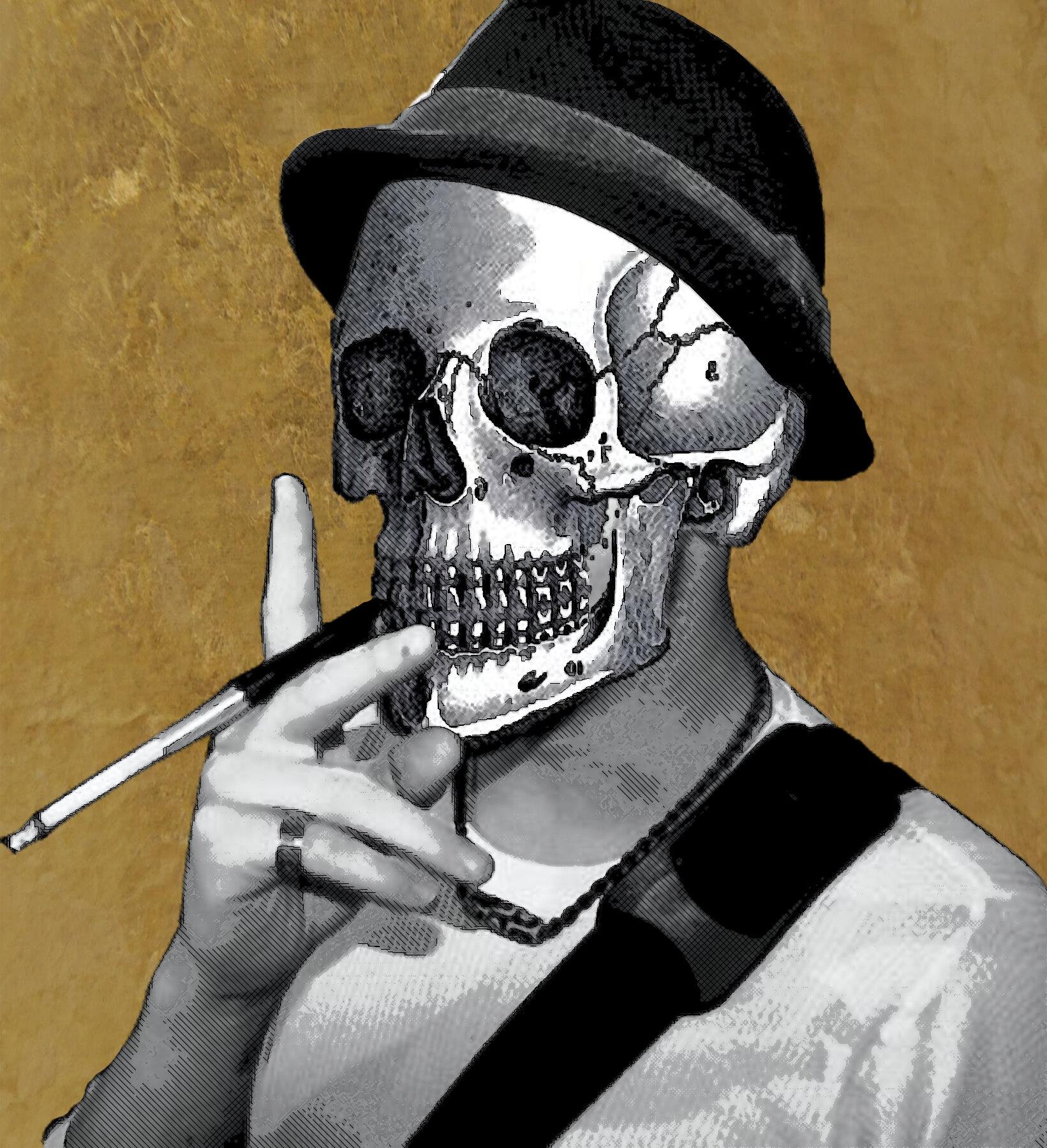 Johnny Fox Self-Portrait