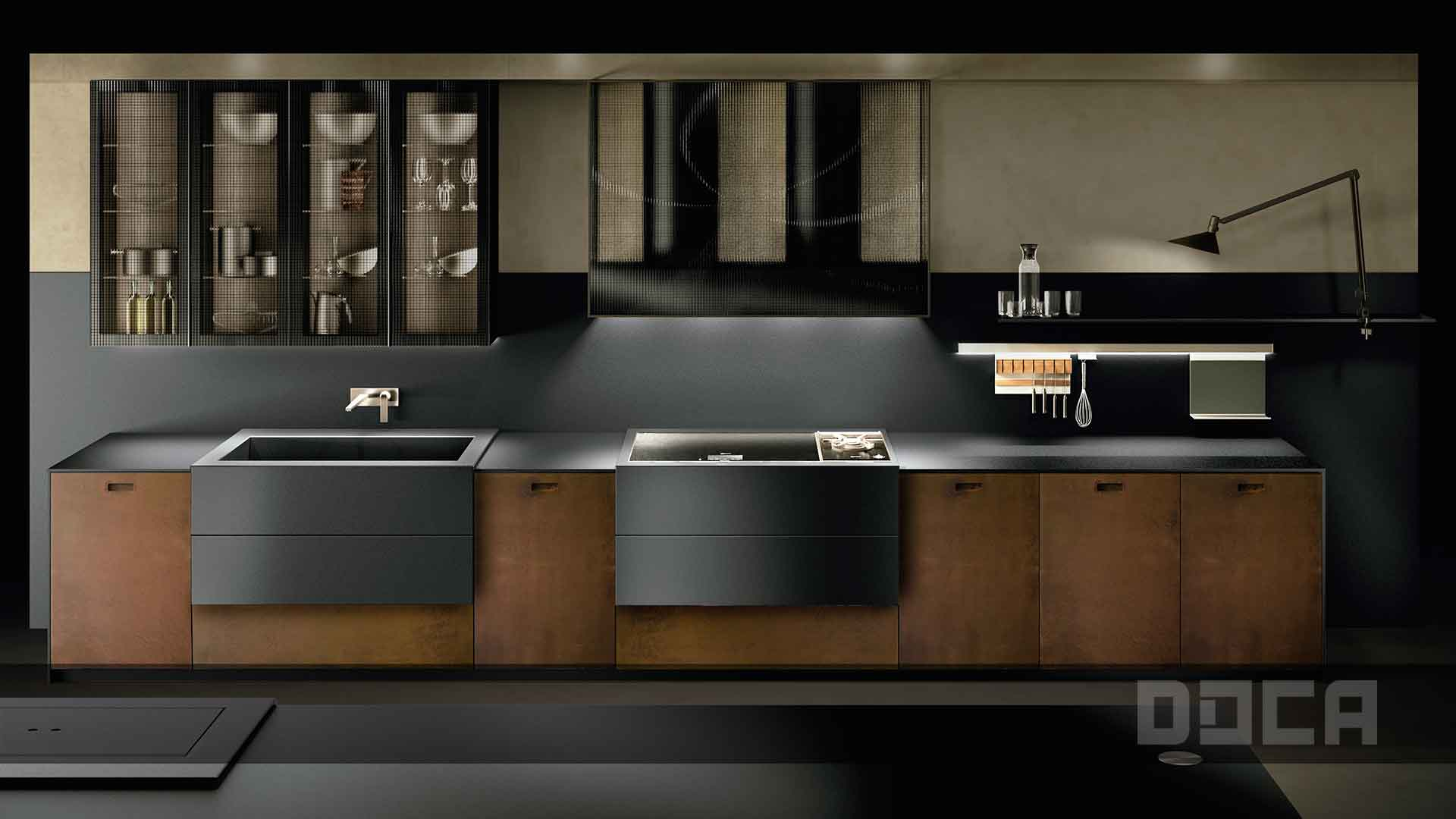 Doca Contemporary Kitchen Collection — DDG - Domani Design Group