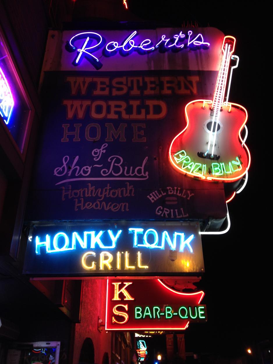 Robert's Western World along the Music Row strip in Nashville