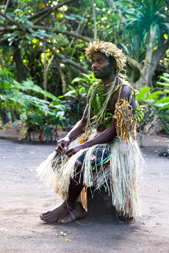 Local Chief in Tanna