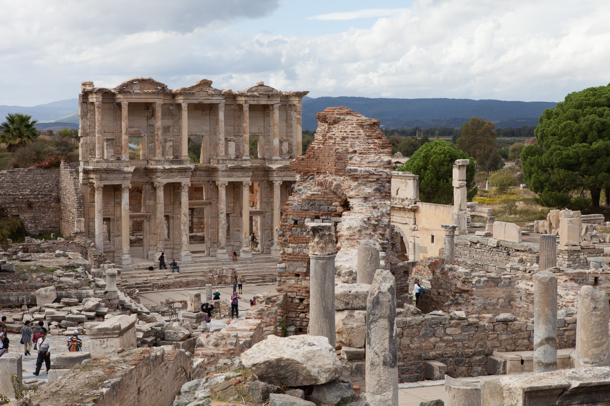 Library of Celsus in Ephesus was completed between circa 114–117 A.D. - Photo: Barry Scully