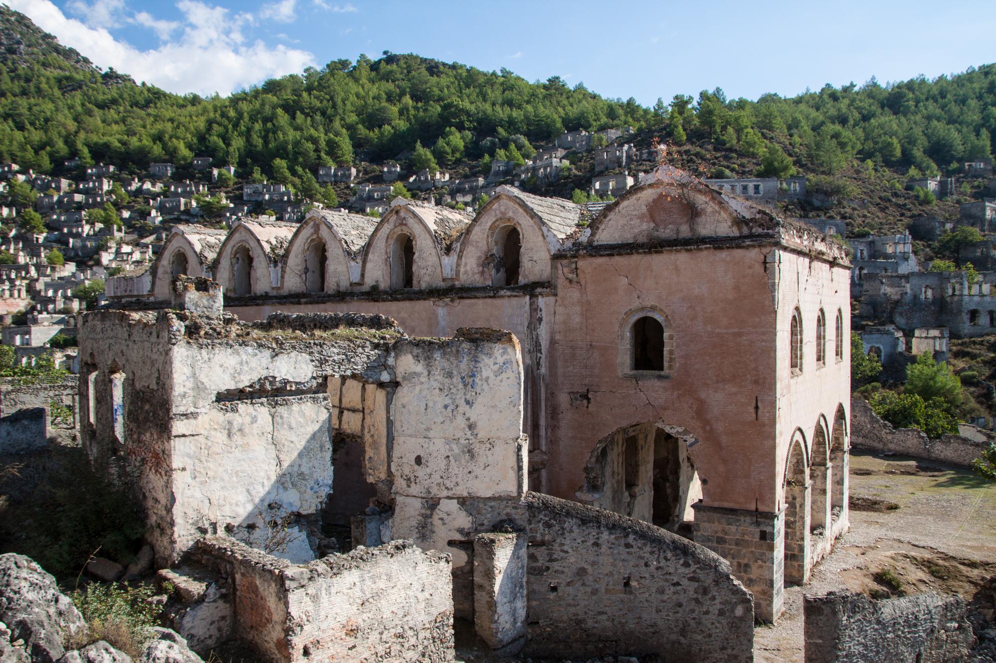 The abandoned city of Kayaköy
