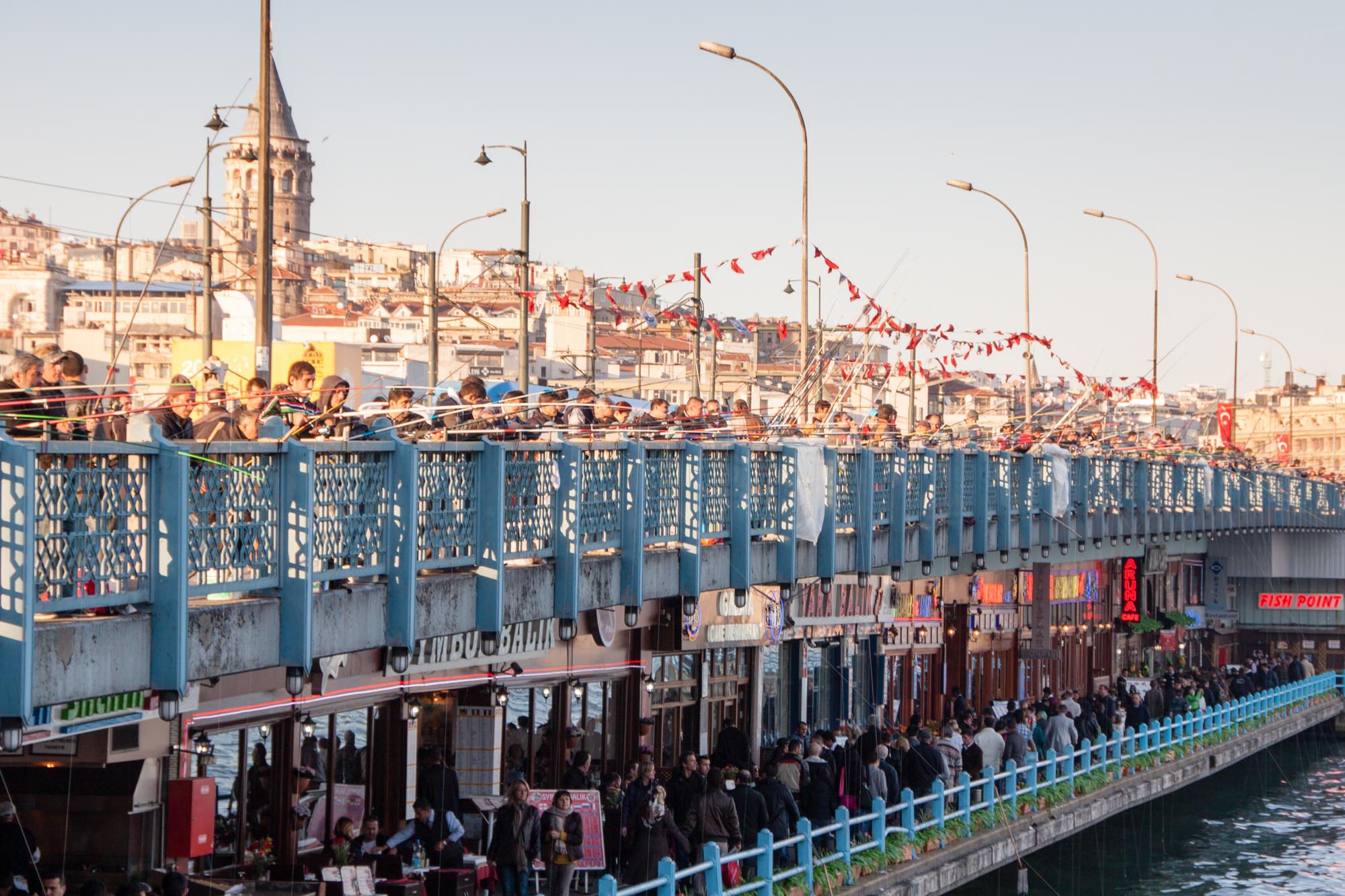 Bridge over the Bosphorus Strait