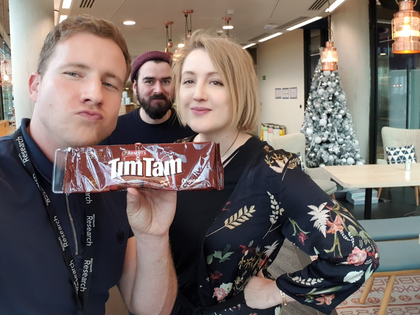 Tim, Ter, Tem with some TimTams