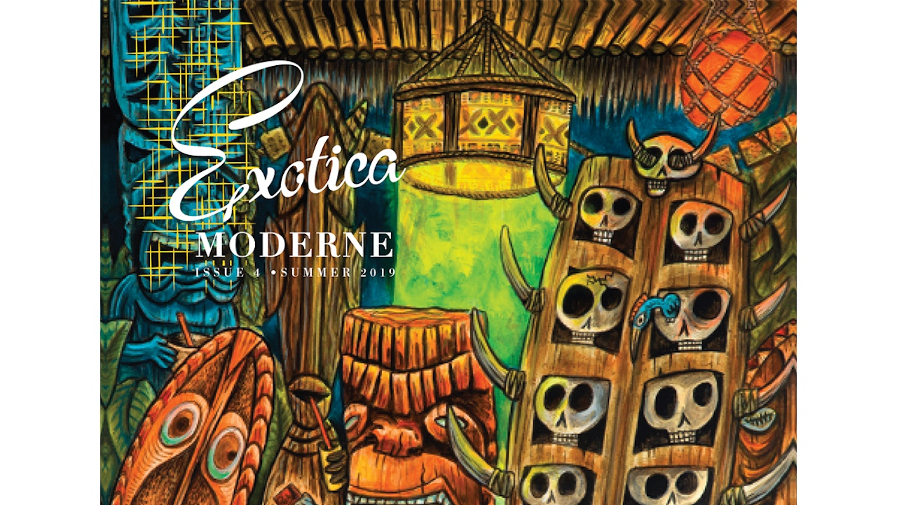 Exotica Moderne - Heartland Hemp and Supply Co.'s designer Ken Holewczynski is the author, editor and publisher of the Tiki revival communities comprehensive resource for all things vintage. This quarterly magazine is a hot commodity. Ken has over 30 years of experience in design, print and multimedia and his publication reflects that. We consider it a privilege to advertise our brand in every issue of Exotica Modern.