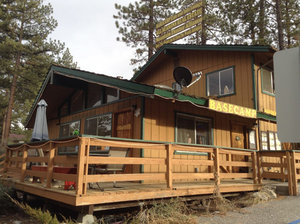 Base Camp - Pine Mountain ClubBASE CAMP CAFE Is Located at: 16311 ASKIN DR PINE MOUNTAIN CLUB, CA 93222 661-242-2709  call for reservations or just come by.  Every Last Friday. Head-linders and local comedians in open mic night.Started in 2012, Basecamp Cafe & Info Lounge is located in the beautiful town of Pine Mountain Club, CA and is the perfect Southern California destination for travelers seeking great scenery, relaxation, and a lot of fun.Enjoy a wide selection of delicious coffee, tea, smoothies, beer, wine and food spilling off the a la carte menu and traditional hospitality against a backdrop of mountains and trees.
