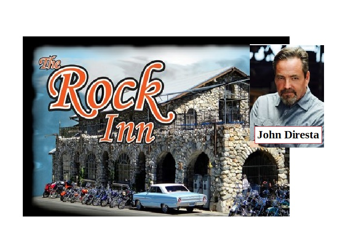 Mountain Comedy presents John Diresta at the Rock Inn May 24th at 9 PM to 11 PM   Plus complementary music from Nathan on the piano from 7 to 9PM