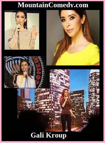 Gali Kroup - Gali kroupApril 26th 8:00 PM to 9:30 PMBase Camp PMC 16311 Askin Pine Mountain Club Ca, 93222 Headliner Gali KroupHeadliner Gali Kroup is a comedian, and actress.ORIGINALLY FROM ISRAEL, GALI WAS BORN WITH THE STAGE BUG AND WAS ON STAGE AS EARLY AS 1O YEARS OLD, PLAYING IN SCHOOL'S COMEDY/DRAMA THEATRICAL SHOWS.UPON MOVING TO THE US, GALI DECIDED TO PURSUE HER DREAMS AND ATTENDED AN ACTING SCHOOL IN N. HOLLYWOOD. STARTED PERFORMING IN SMALL LOCAL VENUES. SHE HAS QUICKLY GAINED CONFIDENCE AND IN A VERY SHORT TIME WAS BOOKED ALL OVER LOS ANGELES' COMEDY CLUBS & THEATERS.NOWADAYS GALI IS STANDING OUT AS A BUSY COMEDIAN EXCITING AUDIENCES WITH A CLEVER, INSIGHTFUL TAKE ON LIFE, PERFORMING AT MAJOR CLUBS LIKE, THE COMEDY STORE HOLLYWOOD, FLAPPERS COMEDY CLUB, ICE HOUSE, IMPROV, AND MANY OTHER POPULAR VENUES.THE WINNER OF 5 COMEDY COMPETITIONS HELD IN GREATER LOS ANGELES AREA!GALI APPEARED ON A NEW TV TALK SHOW