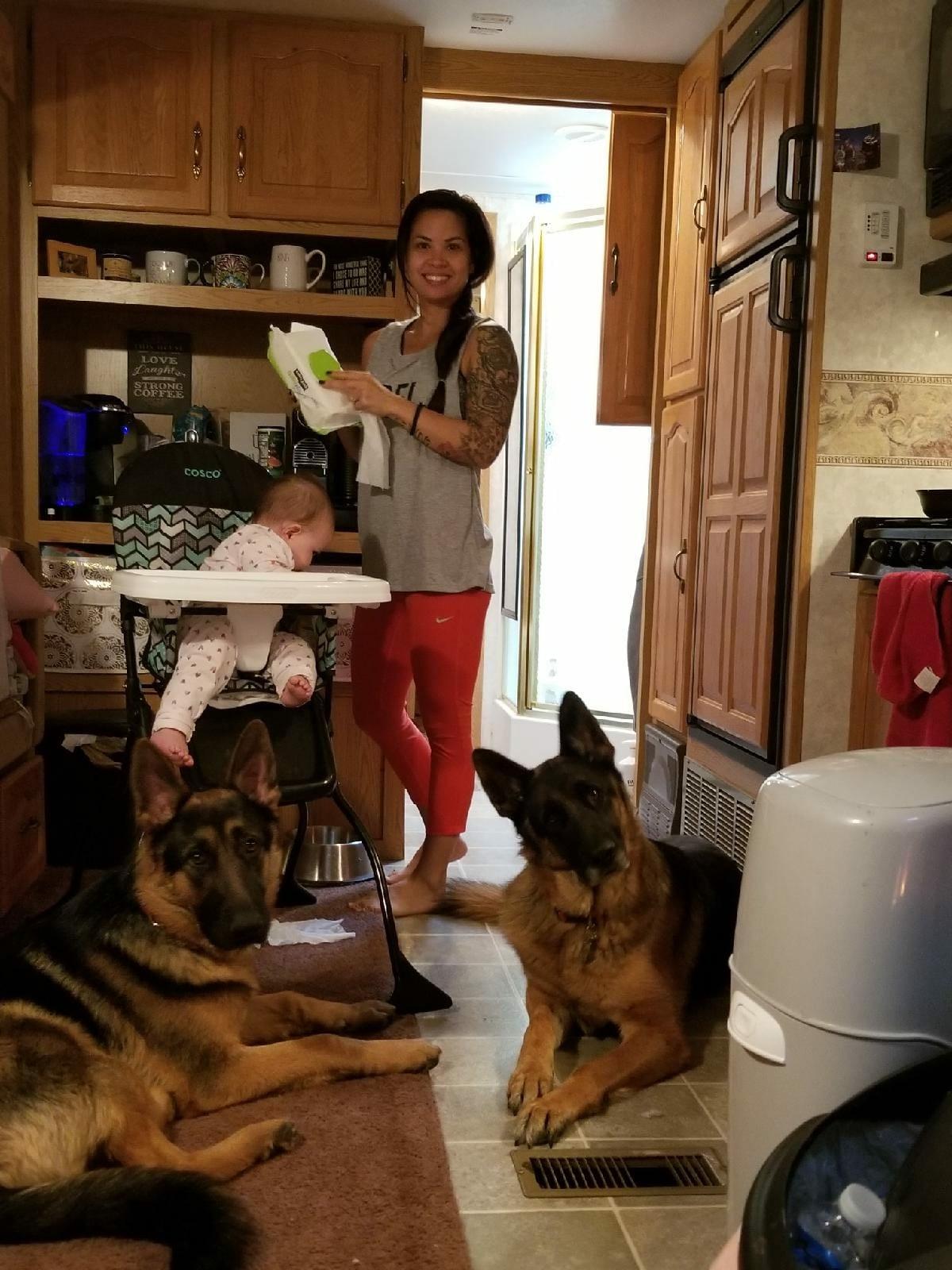 Busy mom life!