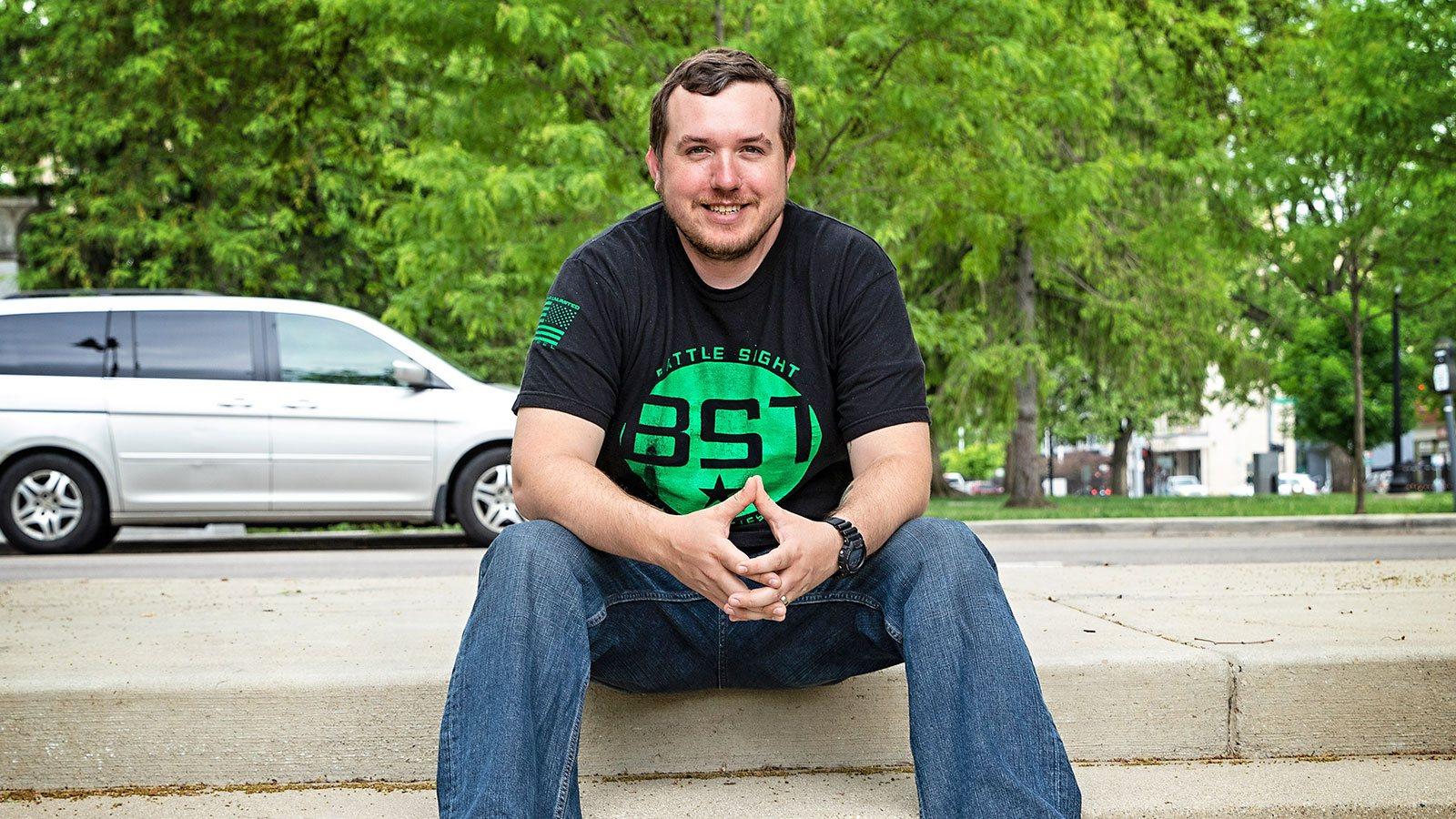 Battle Sigh Technologies founder and president Nick Ripplinger