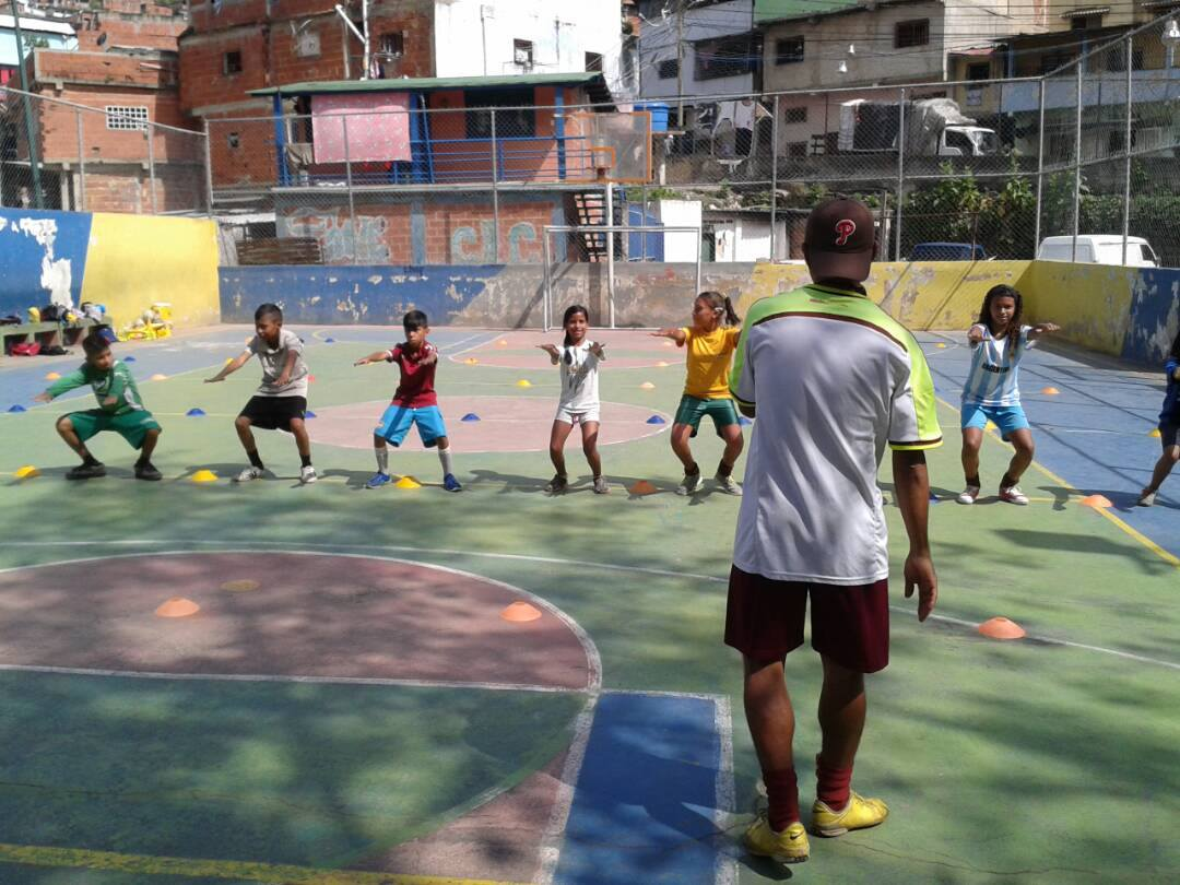 Passion Petare has established itself as a large network composed of 24 schools. They schedule tournaments to incentivize dedication to the program (Credits: Passion Petare)