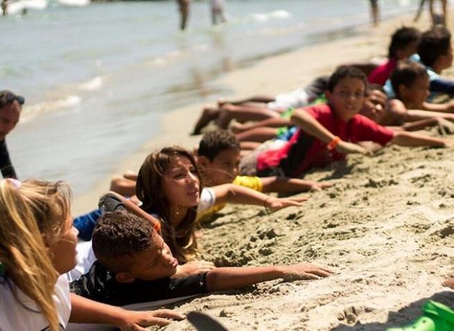 Actualmente, la fundación atiende a 35 niños y jóvenes, entre 3 y 20 años de edad. (Creditos: Fundación Jhonaikel Bolívar)