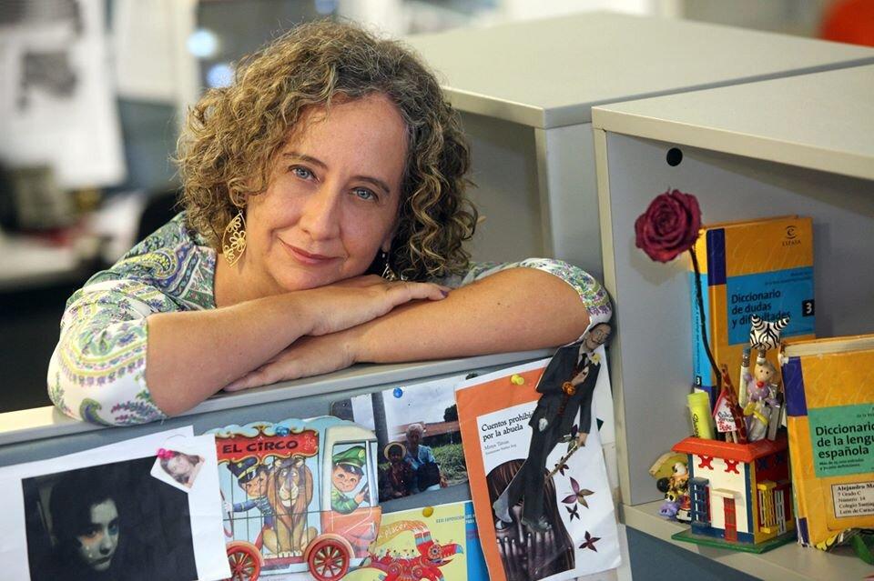 Mireya Tabuas es una autora venezolana de niños y cofundadora de Cuentaconmigo Cuentacontigo.