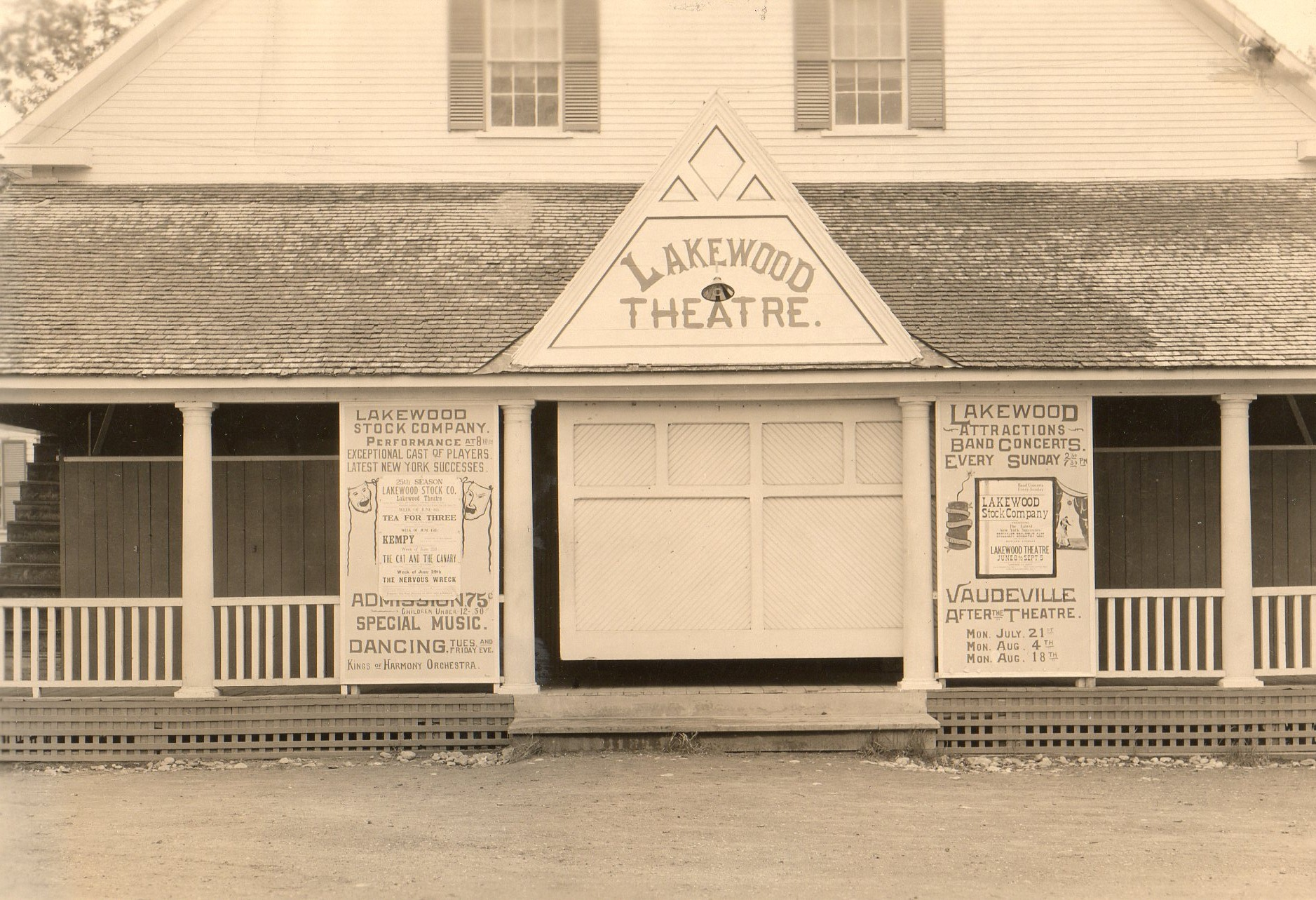 First Renovation of Lakewood Theater ca 1920