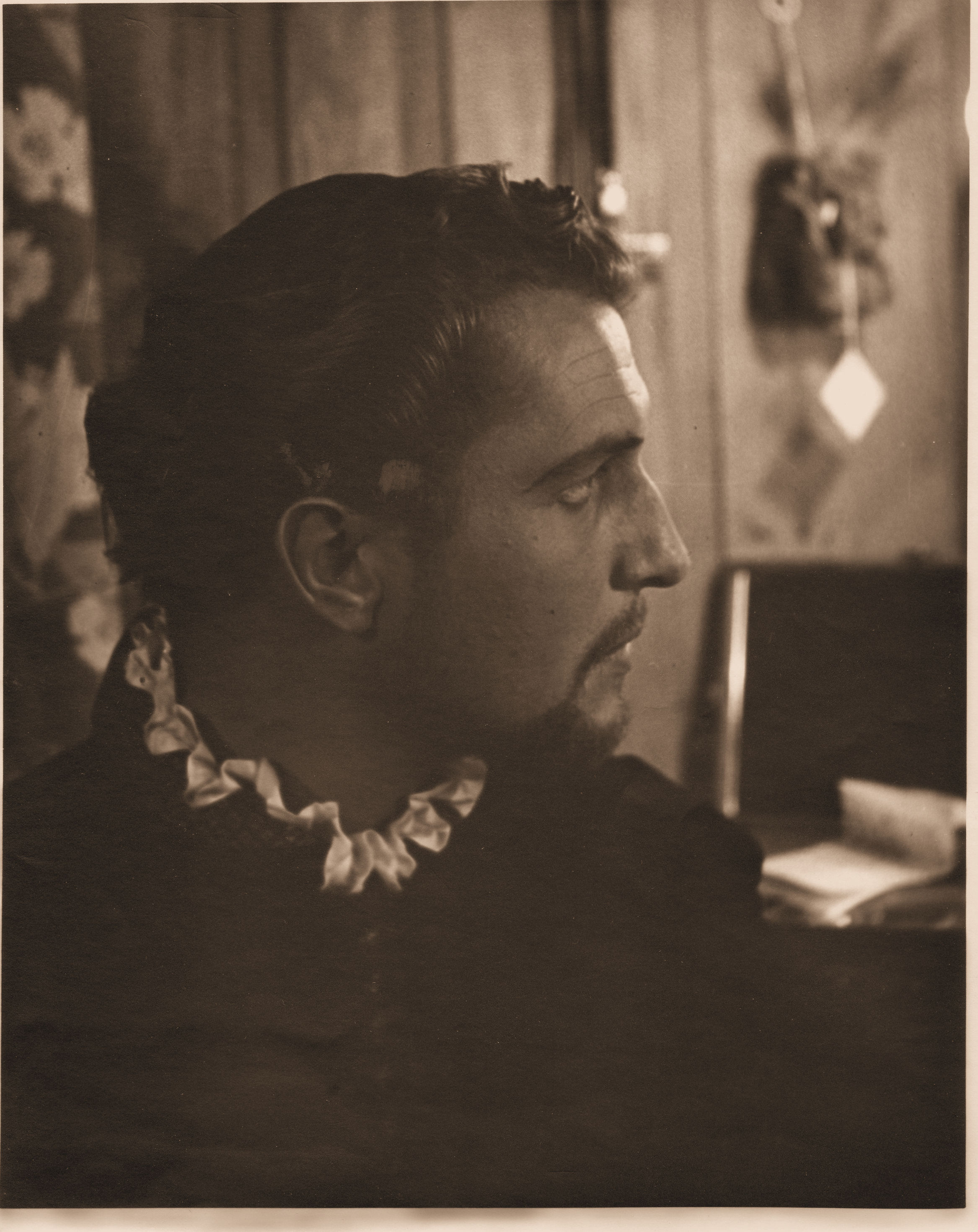 Vincent Price in 1940 Lakewood Theater Dressing Room