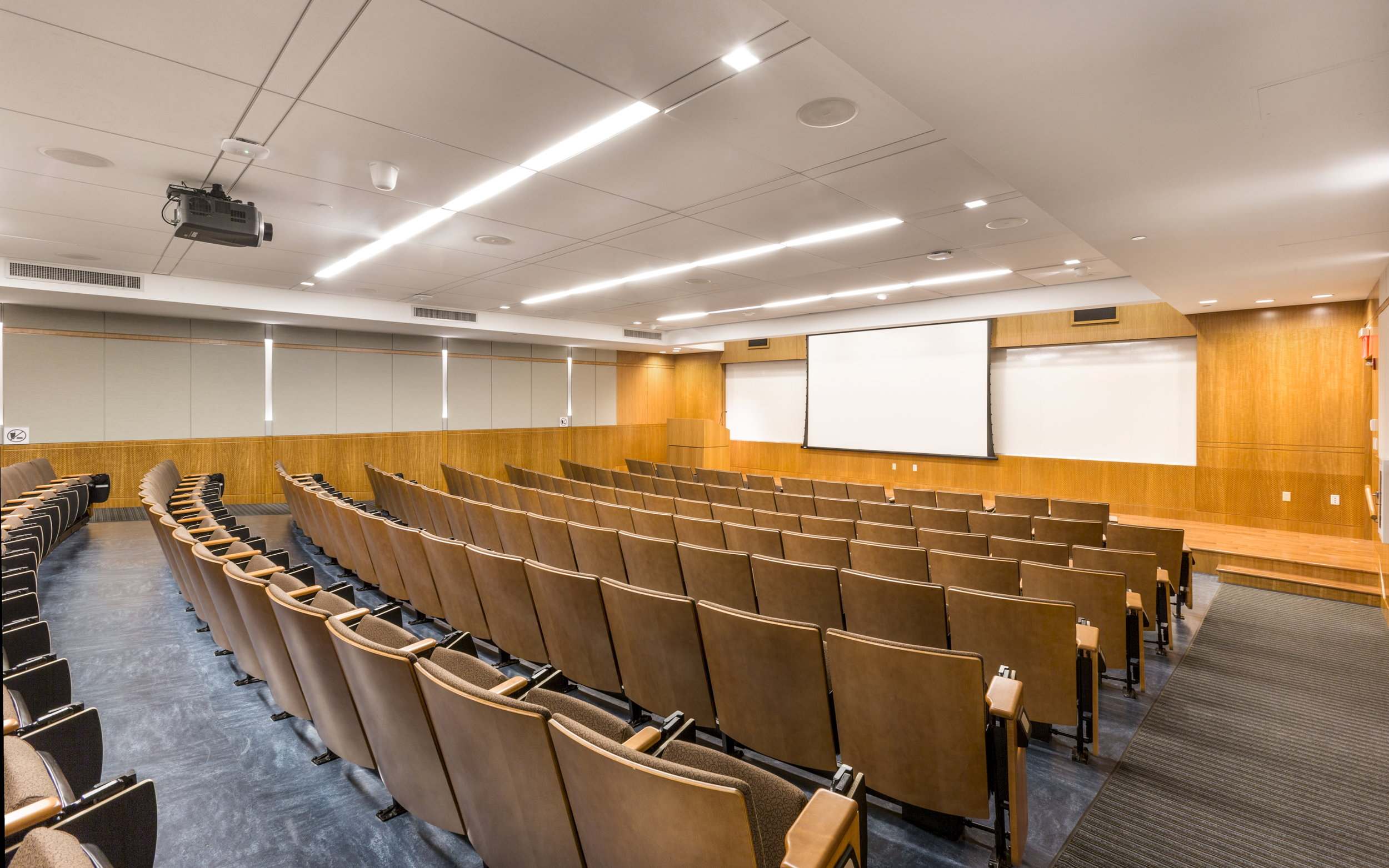 NYU LECTURE HALL