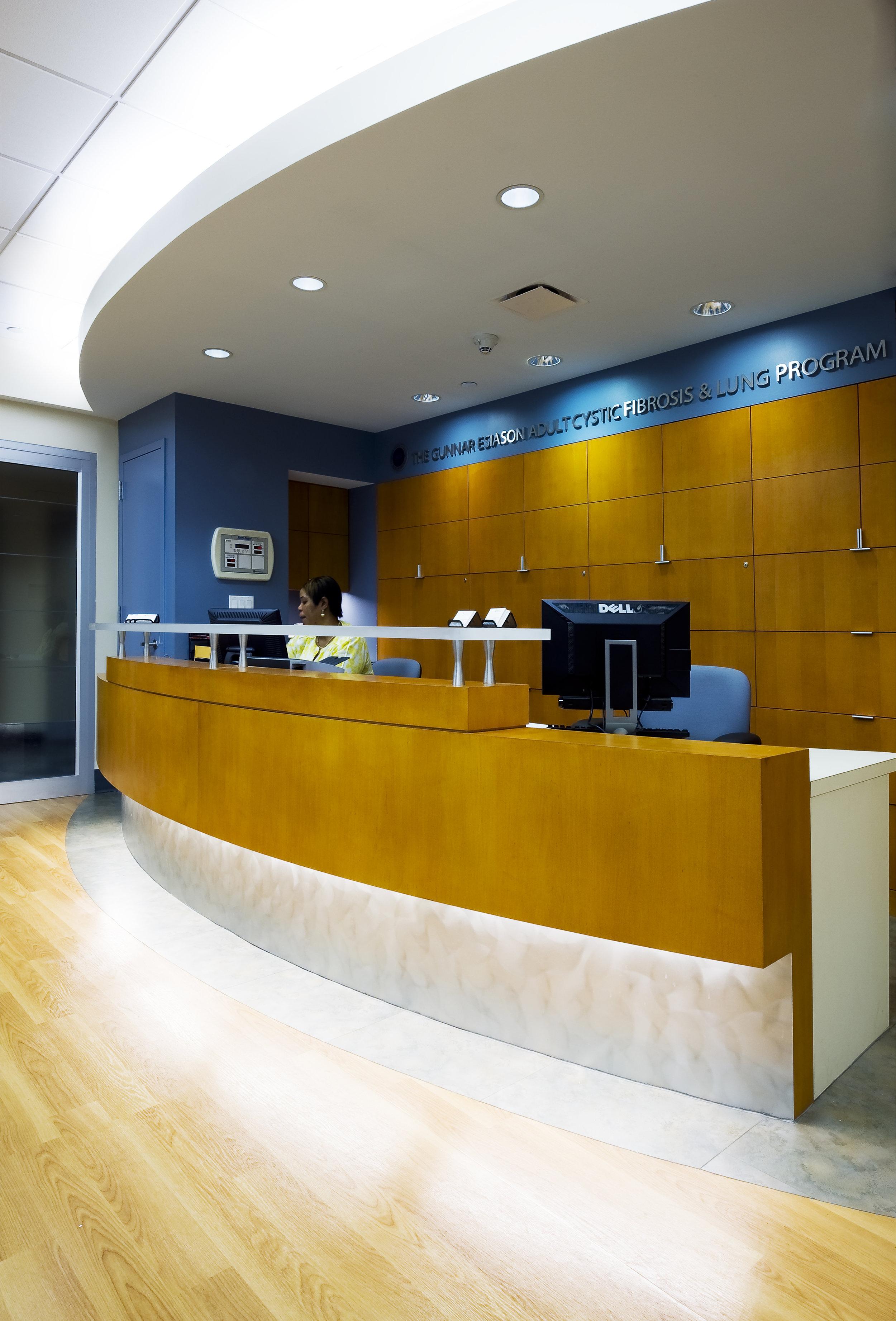 ESIASON CYSTIC FIBROSIS & LUNG CENTER - COLUMBIA UNIVERSITY MEDICAL CENTER