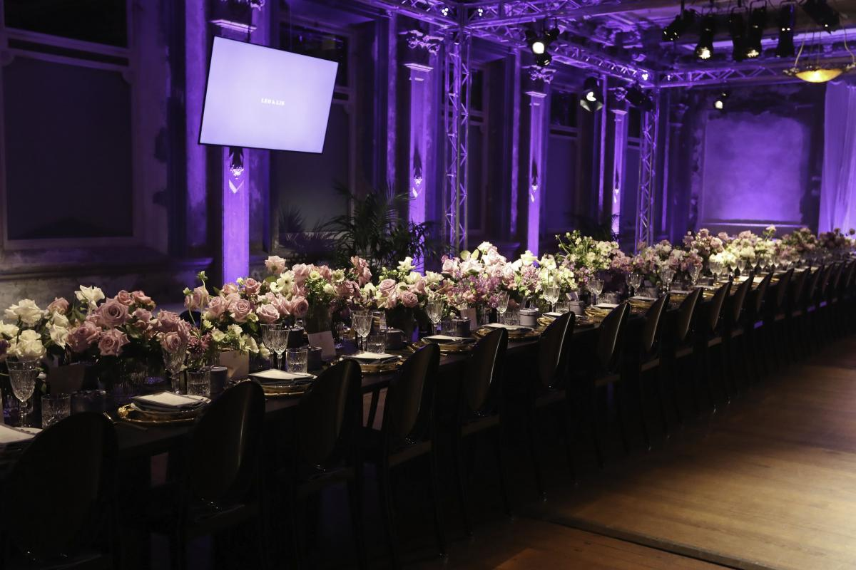 A fashion event by Leo & Lin at the George Ballroom Melbourne.
