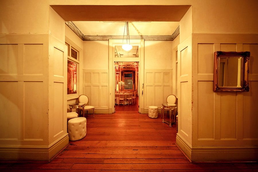 The venue foyer - The George Ballroom.