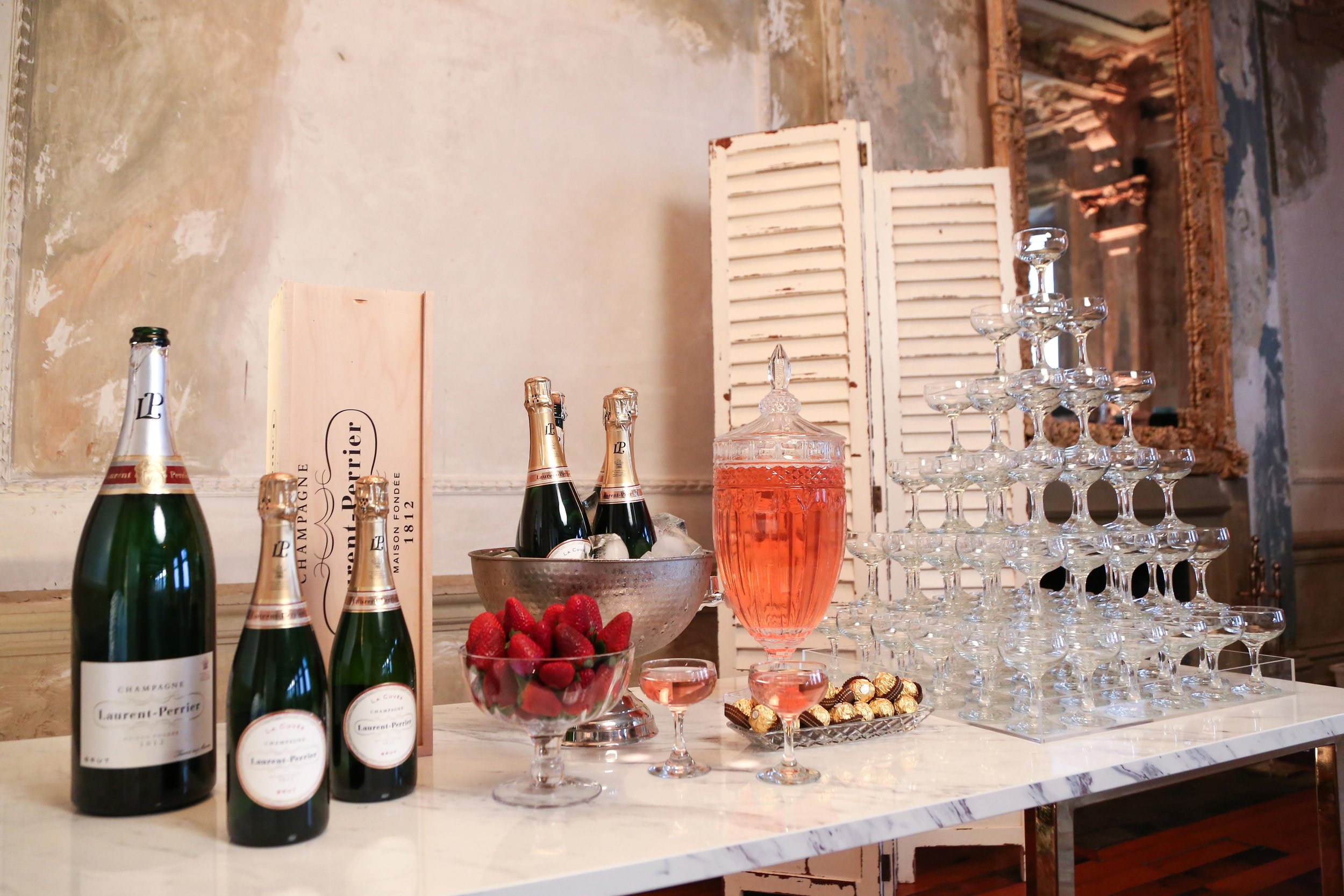 Champagne Tower - Wedding Venues Melbourne