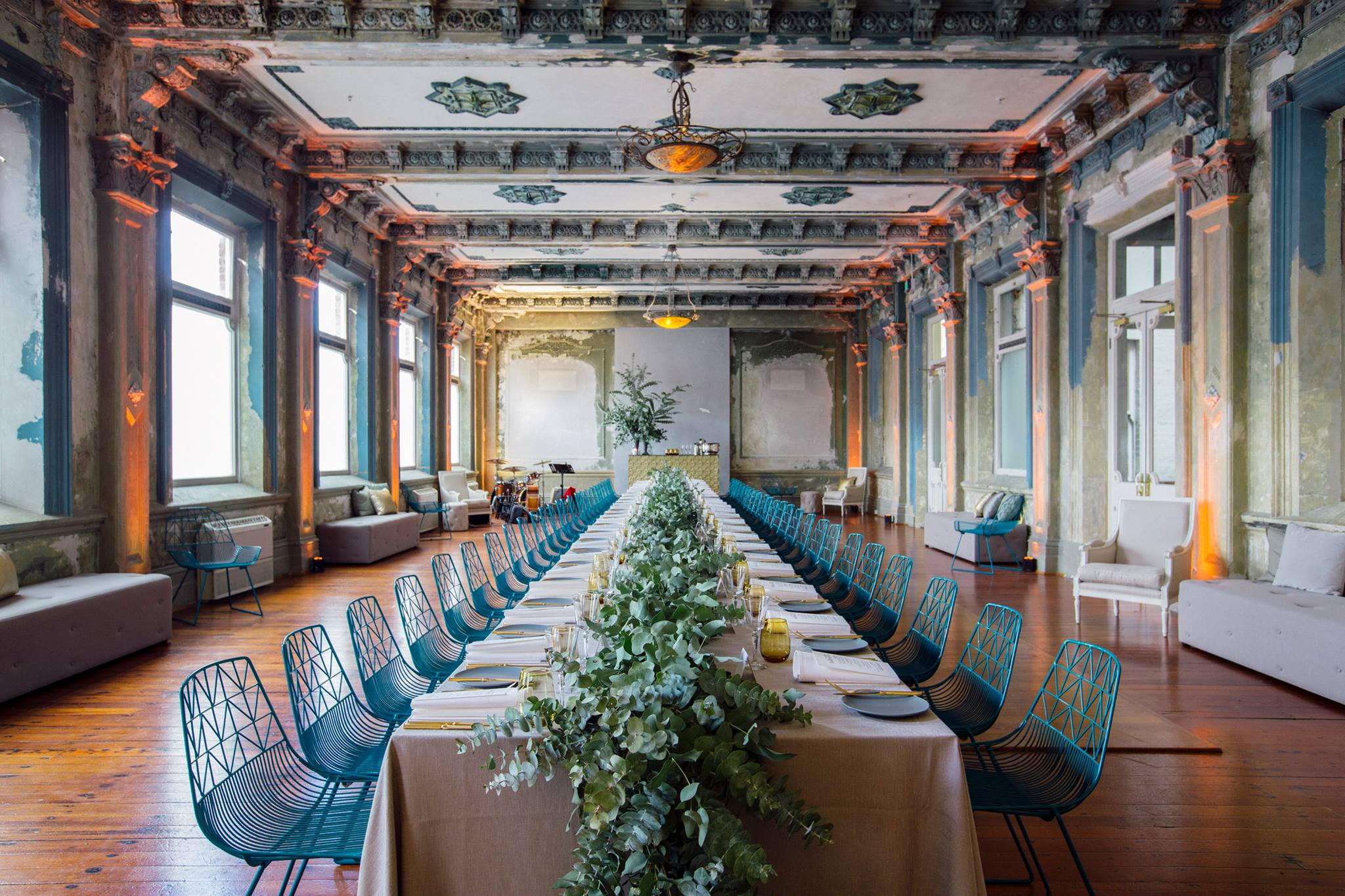 The George Ballroom is one of the Best Locations to get married in Australia, according to marriage celebrant Kate Mac.