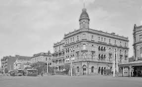 The Corner Building of The George Hotel.