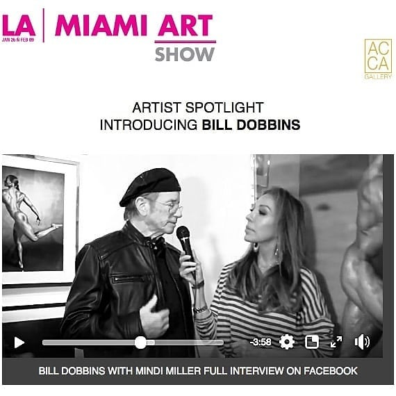"""Master painters will be inspired by Bill Dobbins photography and historians will tell stories how Bill Dobbins unveiled the strength, and passion possessed within the female form making his works our cultural treasure throughout centuries ~ Carlos Benitez, Gallerist  Click profile web link to watch interview.  Art history is familiar with depictions of the male, athletic bodies - invented it seems by the ancient Greeks who had as their subjects a class of professional male athletes such as those in the Olympics. Artists like Michelangelo celebrated those bodies. Would he have been intriqued if aesthetically muscular women had existed in the 16th century? Would these subjects have become """"Michelangelo's women?"""" Bill Dobbins had the good fortune to be in the right place at the right time when modern bodybuilding for women first came on the scene in the late 1970s. As a bodybuilding fan and a sports fan in general, he recognized that women as well as men competed in sports such as track, gymnastics and basketball - and now they were involved in bodybuilding competition as well. Gradually Bill Dobbins began to specialize more and more in photographing these women - first bodybuilders, then fitness and figure women and now physique and bikini as well. As """"Pumping Iron"""" author Charles Gaines pointed out, these bodies represented a totally new archetype in all of cultural history. Or, in Bill Dobbins words, """"something new under the sun."""" Bill Dobbins continues to follow his passion and keeps creating the very best images.  Just as many of the oil paintings that have survived the best from previous centuries, the exhibition features one large-scale oversized wood panel print and three handmade silver gelatin emulsion prints from Bill Dobbins iconic """"O"""" series, framed in modern chrome shadow box. View the artwork in person during LA