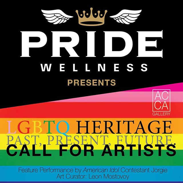 AC Gallery Los Angeles presents the LGBTQ HERITAGE Past, Present, Future. A multi-media group exhibition dedicated to presenting the work of artists exploring queer identities to exhibit from Friday, June 7th to Friday, June 21rst in Los Angeles in partnership with artnet and Artsy.  Deadline to Submit: Sunday, May 27th, 2019  We are inviting artists to submit artworks in the medium of their choosing, including two-dimensional works (painting, drawing. watercolor, printmaking, photography, etc), three-dimensional works (sculpture including craft such as glass, ceramic, weaving, furniture, etc), video/film, and installation.  Submission Fee: $35 for five artwork submissions.  Do not miss the opportunity to exhibit!  Art Curator: @leonmost Feature Performance by American Idol Contestant @Jorgie_music  @theacademy #oscars  Gallery Network Partners @artnet @artsy  @thehollywoodroosevelt @dreamhotelsla @loewshollywood  @japanhousela @hollywoodchamberofcommerce @jimmykimmellive #hollywood  @Artistscornergallery @DianeRosenstein @Gavlakgallery @JeffreyDeitchgallery @KohnGallery @RegenProjects @Steveturnerla @Tanyabonakdargallery  #hollywoodwalkoffame #egyptiantheatrehollywood @innout  @melsdrivein @innoutpeople  @dolbytheatre @chinesetheatres @hardrockcafe @magiccastleofficial  @yamashirola @taola @warwick_la